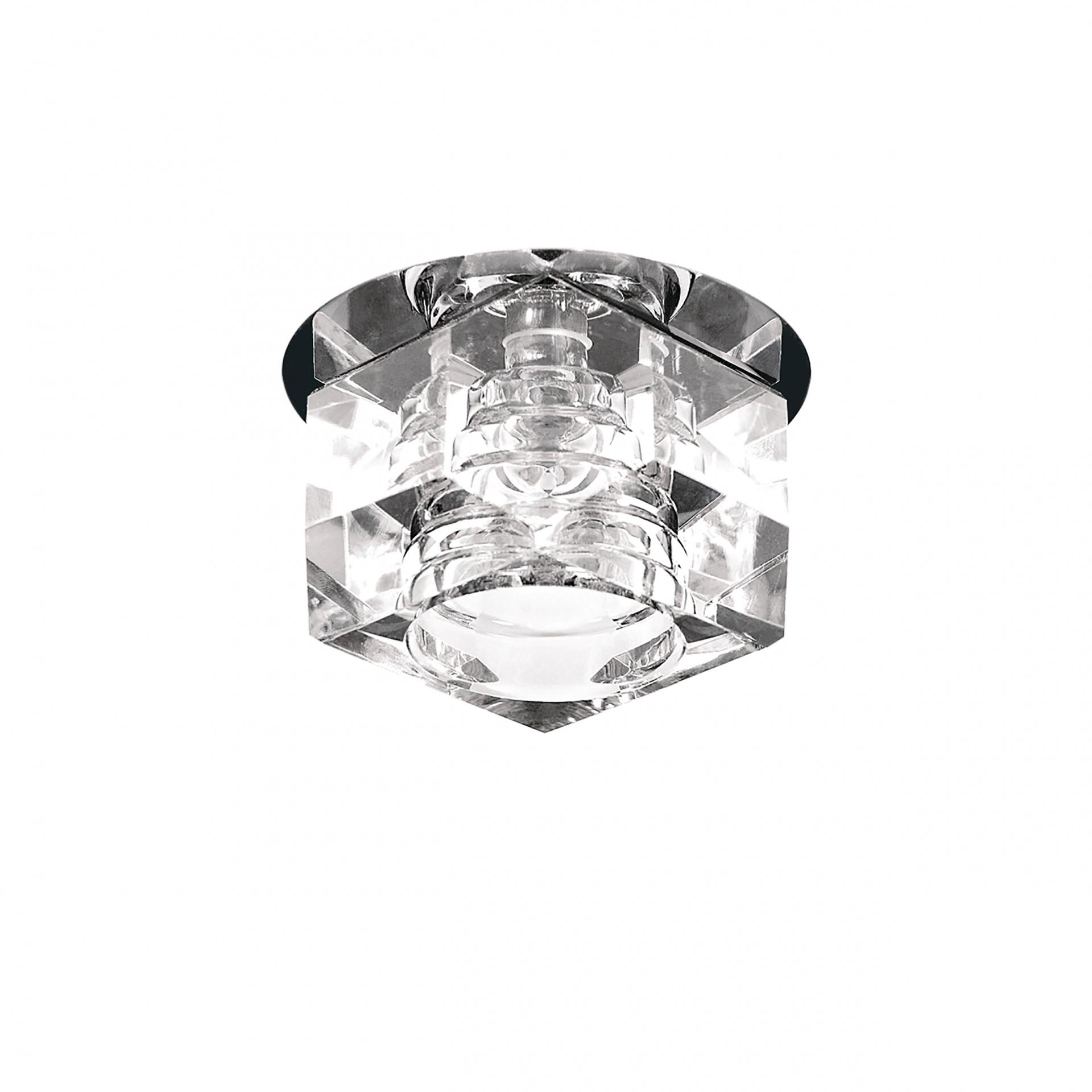 Светильник Romb CR G4 хром / прозрачный Lightstar 004060R, купить в СПб, Москве, с доставкой, Санкт-Петербург, интернет-магазин люстр и светильников Starlight, фото в жизни
