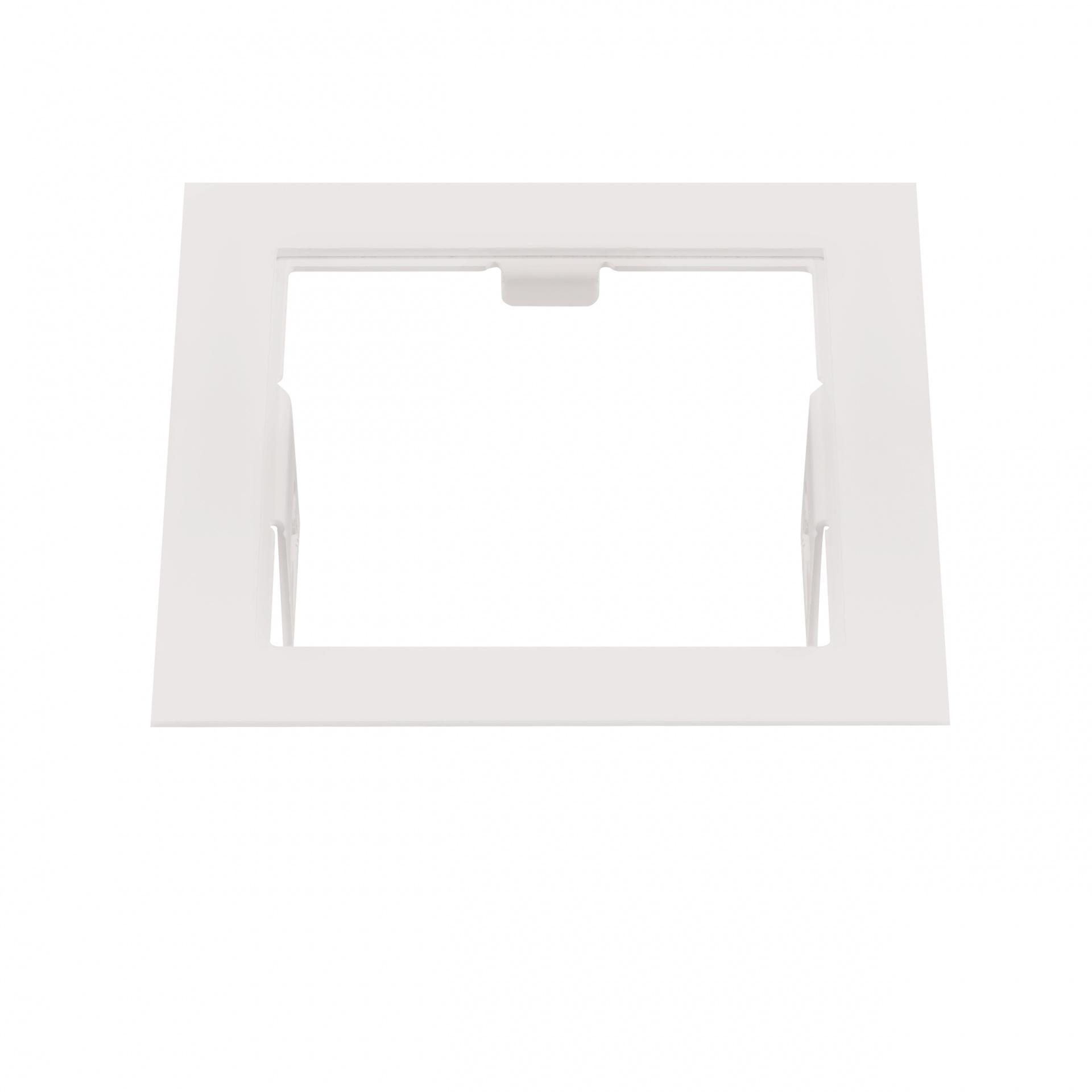 Рамка Domino quadro MR16 белый Lightstar 214516, купить в СПб, Москве, с доставкой, Санкт-Петербург, интернет-магазин люстр и светильников Starlight, фото в жизни