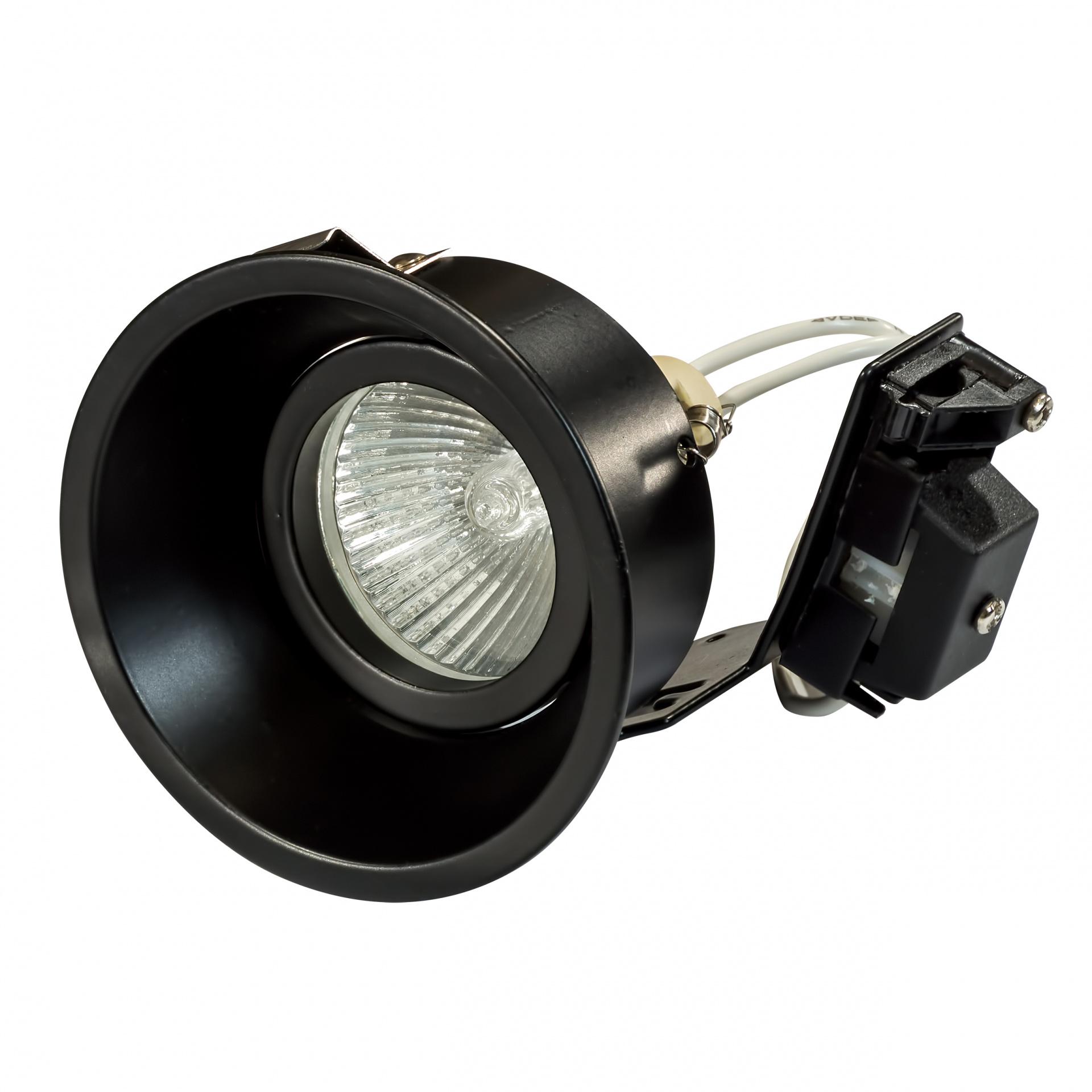 Светильник Domino round МR16 черный Lightstar 214607, купить в СПб, Москве, с доставкой, Санкт-Петербург, интернет-магазин люстр и светильников Starlight, фото в жизни