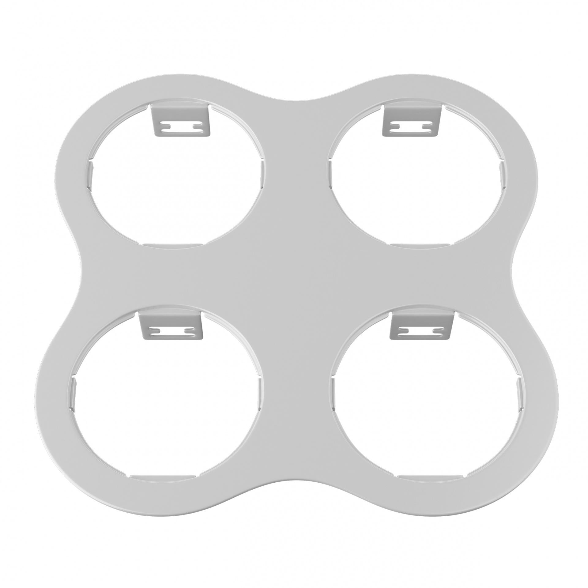 Рамка Domino round 2x2 МR16 белый Lightstar 214646, купить в СПб, Москве, с доставкой, Санкт-Петербург, интернет-магазин люстр и светильников Starlight, фото в жизни