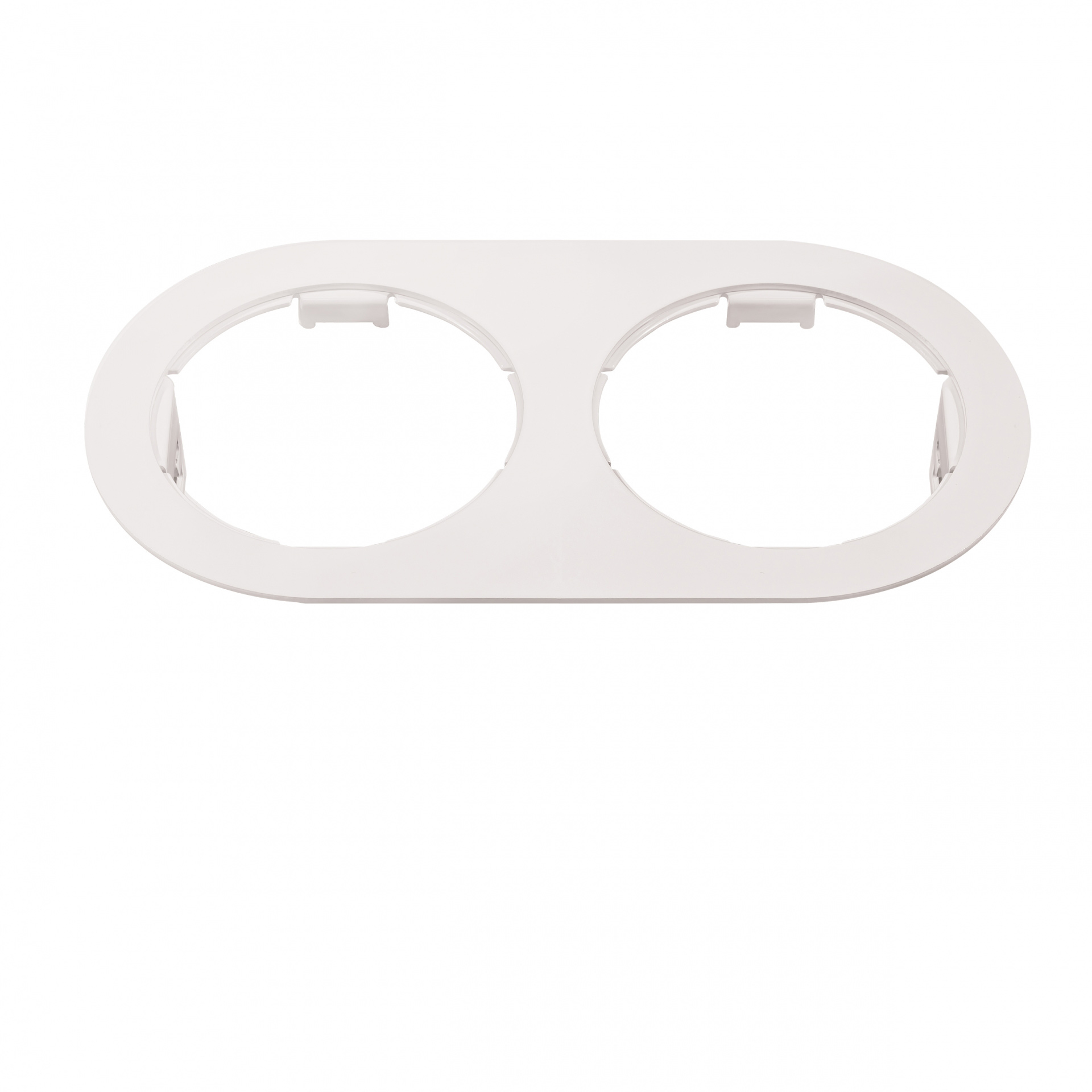 Рамка Domino Double ROUND МR16 белый Lightstar 214656, купить в СПб, Москве, с доставкой, Санкт-Петербург, интернет-магазин люстр и светильников Starlight, фото в жизни
