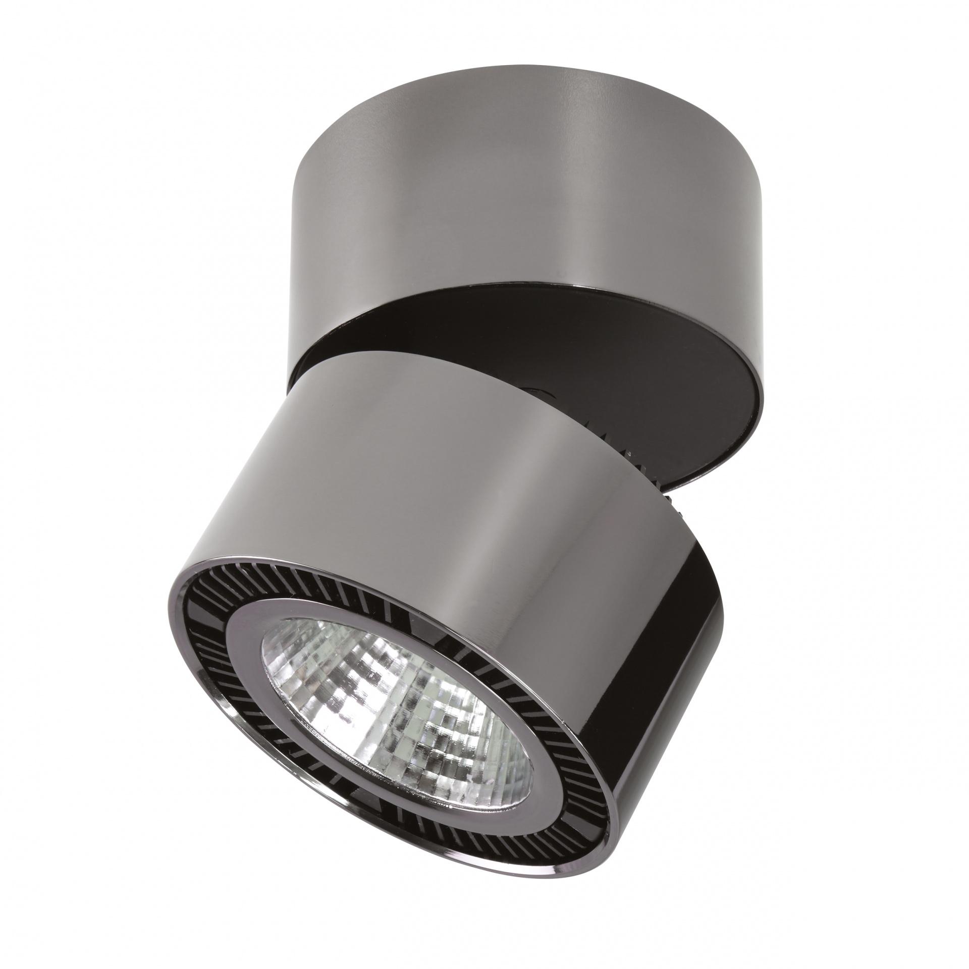 Светильник Forte Muro LED 26W 1950LM 30G черный хром 4000K Lightstar 214838, купить в СПб, Москве, с доставкой, Санкт-Петербург, интернет-магазин люстр и светильников Starlight, фото в жизни