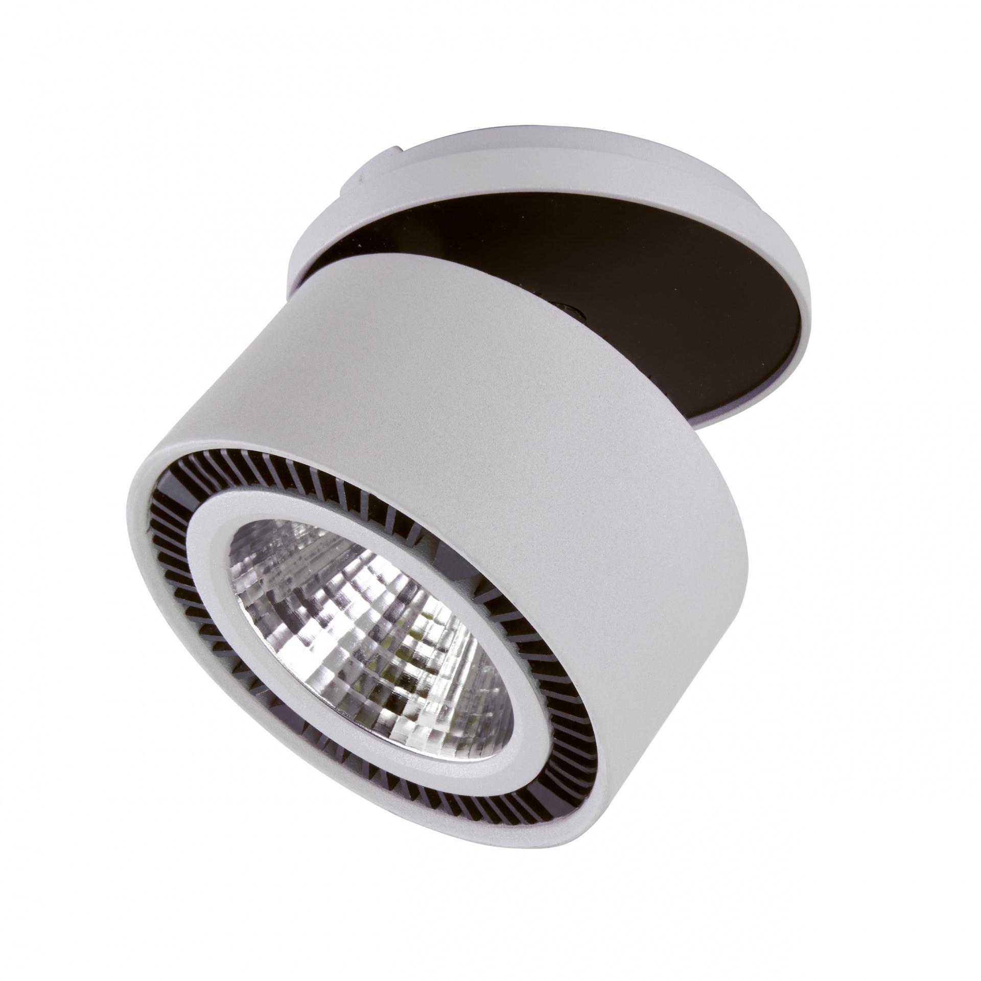 Светильник Forte inca LED 40W 3400LM 30G серый 4000K Lightstar 214849, купить в СПб, Москве, с доставкой, Санкт-Петербург, интернет-магазин люстр и светильников Starlight, фото в жизни