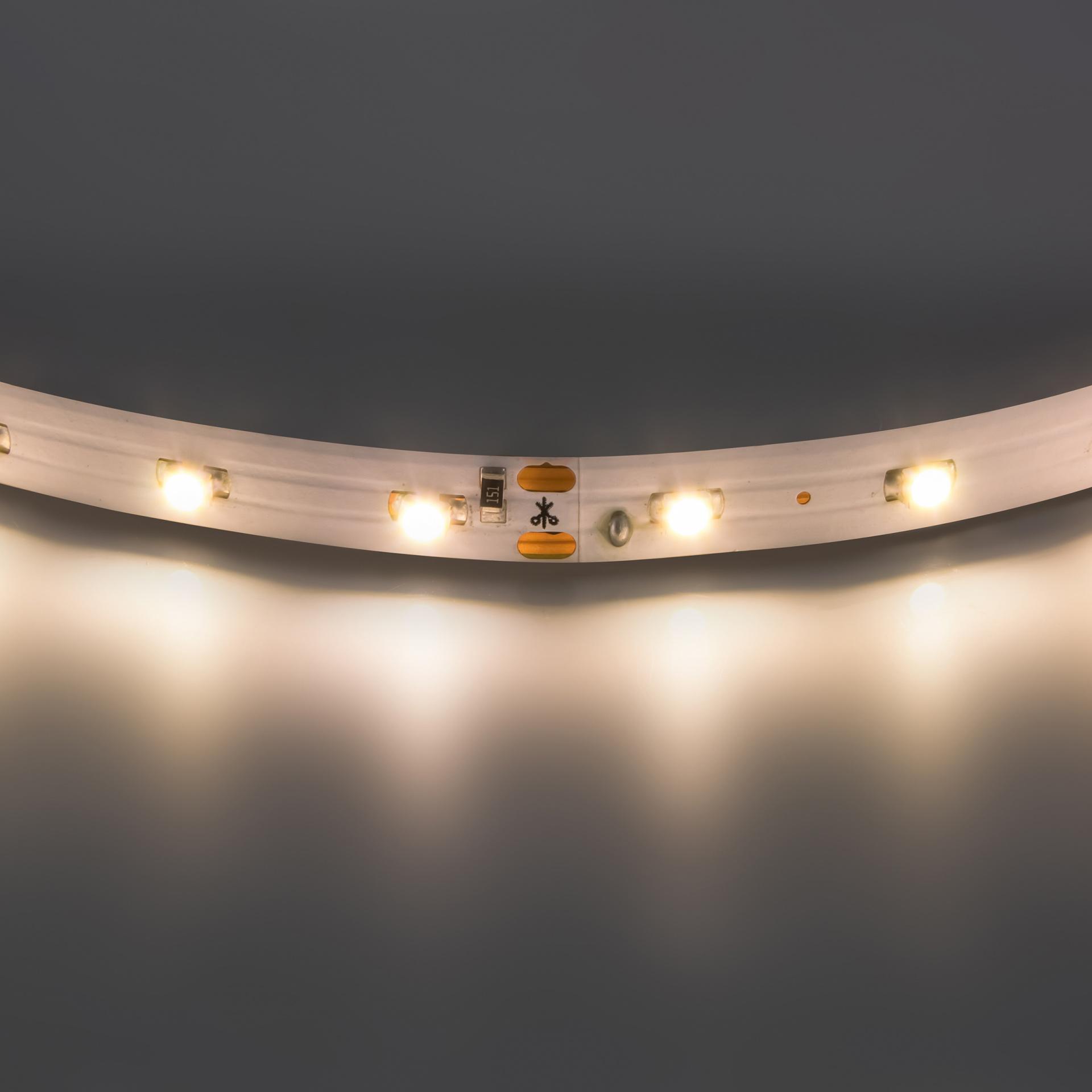 Лента 3528 LED 12V 4.8W 2700K-3000K 200m теплый белый свет Lightstar 400002, купить в СПб, Москве, с доставкой, Санкт-Петербург, интернет-магазин люстр и светильников Starlight, фото в жизни