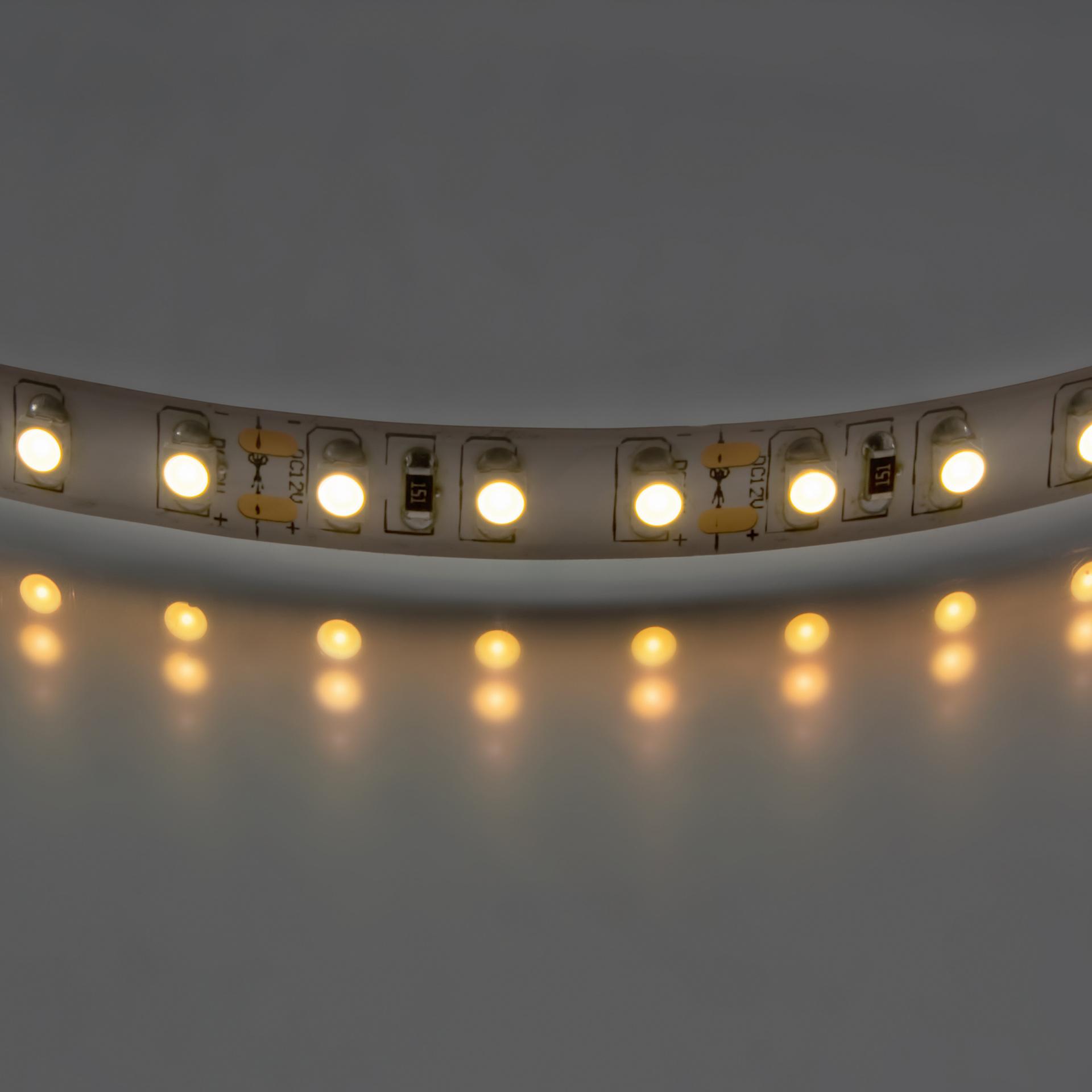 Лента 3528 LED 12V 9.6W IP20 2700K-3000K 200m теплый белый свет Lightstar 400012, купить в СПб, Москве, с доставкой, Санкт-Петербург, интернет-магазин люстр и светильников Starlight, фото в жизни