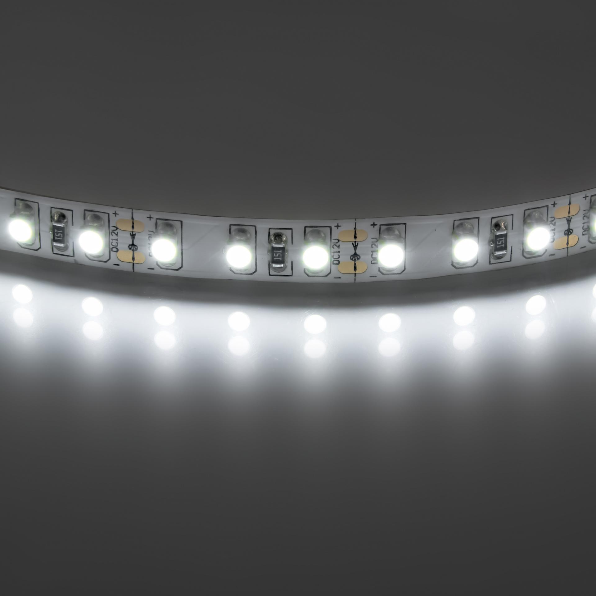 Лента 3528 LED 12V 9.6W IP20 4200K-4500K 200m нейтральный белый свет Lightstar 400014, купить в СПб, Москве, с доставкой, Санкт-Петербург, интернет-магазин люстр и светильников Starlight, фото в жизни