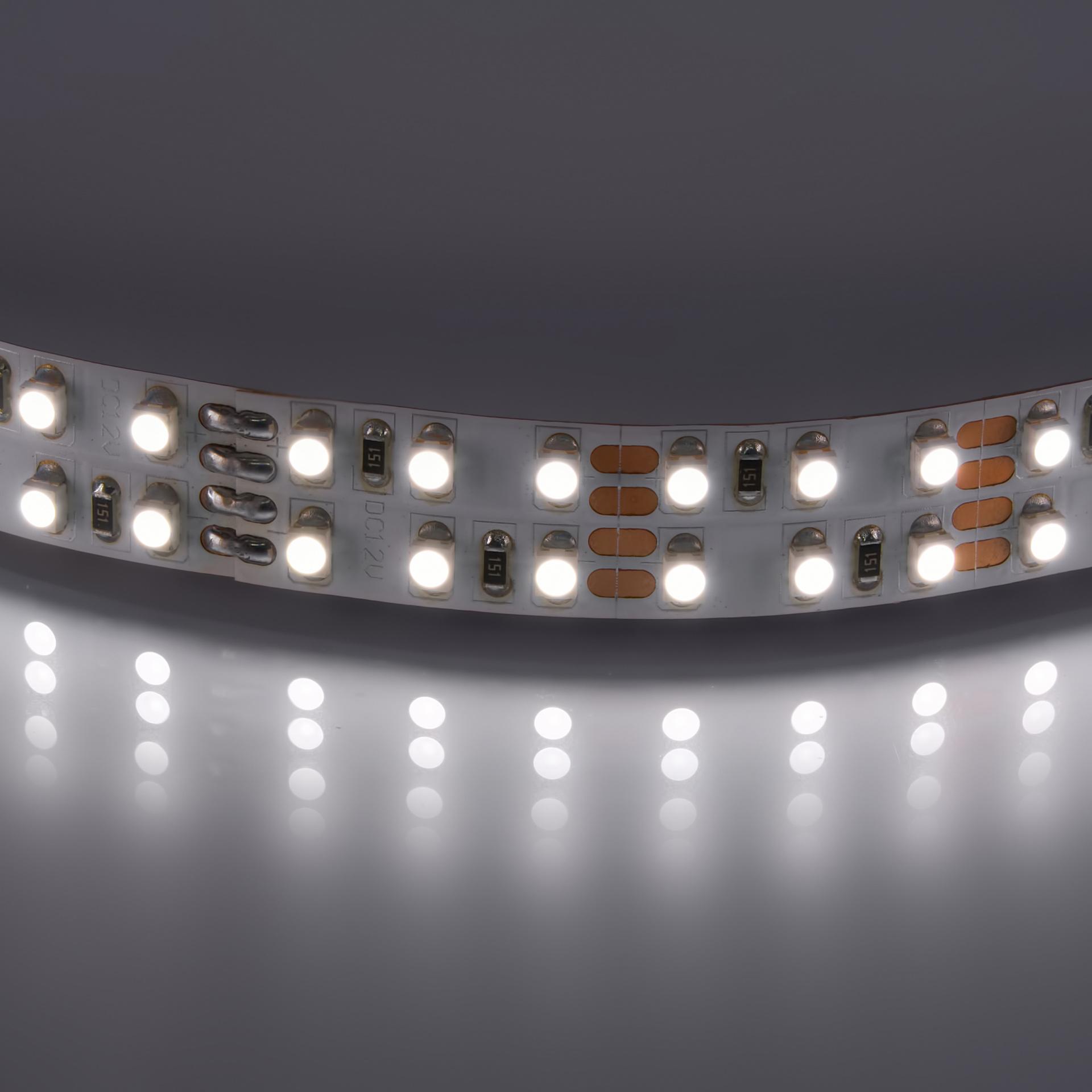 Лента 3528 LED 12V 19.2W 4200K-4500K 100m нейтральный белый цвет Lightstar 400024, купить в СПб, Москве, с доставкой, Санкт-Петербург, интернет-магазин люстр и светильников Starlight, фото в жизни