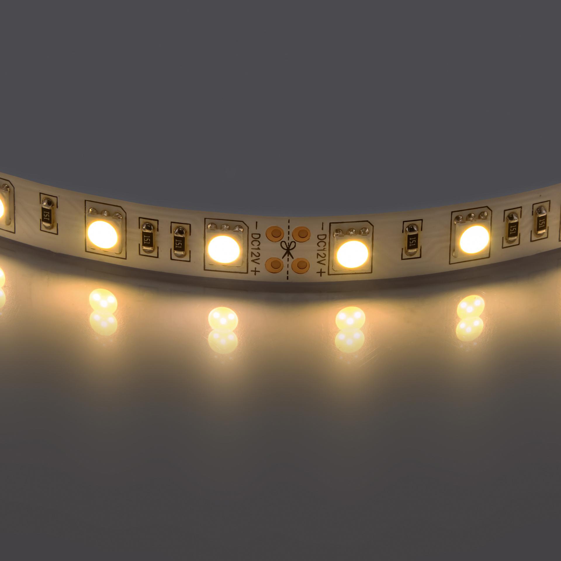 Лента 5050 LED 12V 14.4W 2700K-3000K 200m теплый белый свет Lightstar 400052, купить в СПб, Москве, с доставкой, Санкт-Петербург, интернет-магазин люстр и светильников Starlight, фото в жизни