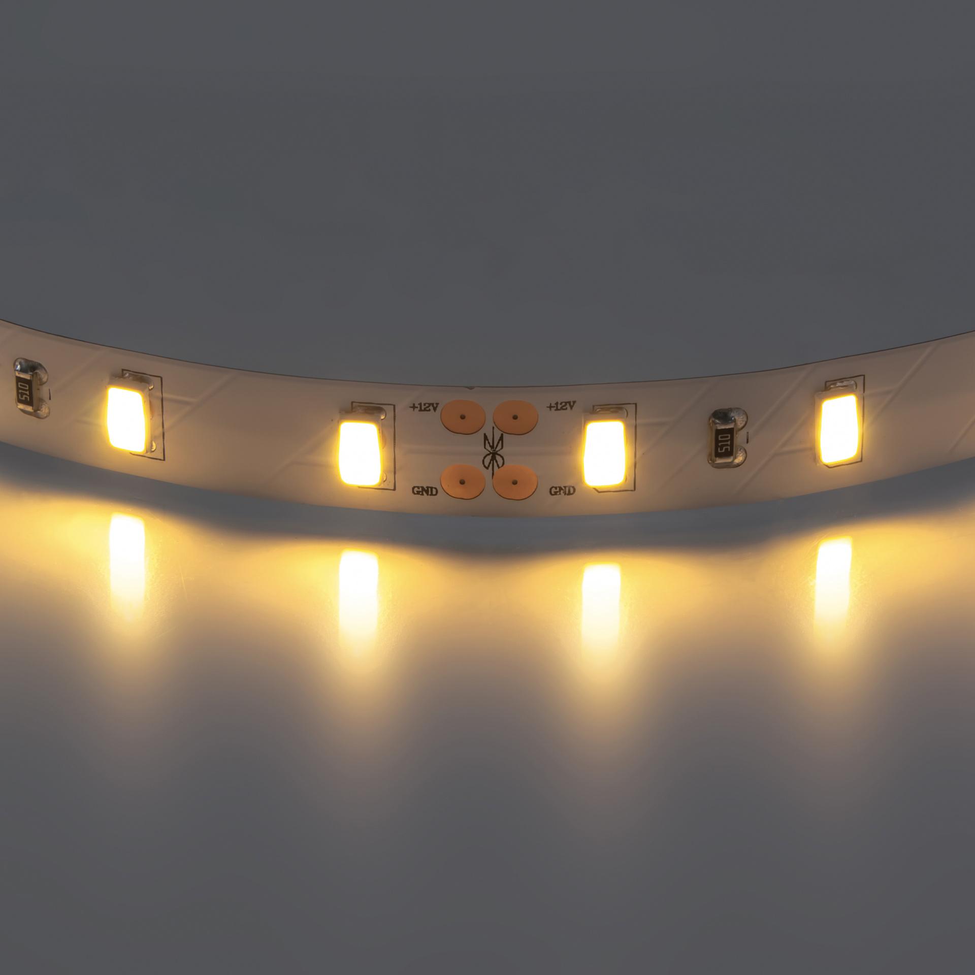 Лента 5630 LED 12V 28.8W 2700K-3000K 200m теплый белый свет Lightstar 400072, купить в СПб, Москве, с доставкой, Санкт-Петербург, интернет-магазин люстр и светильников Starlight, фото в жизни