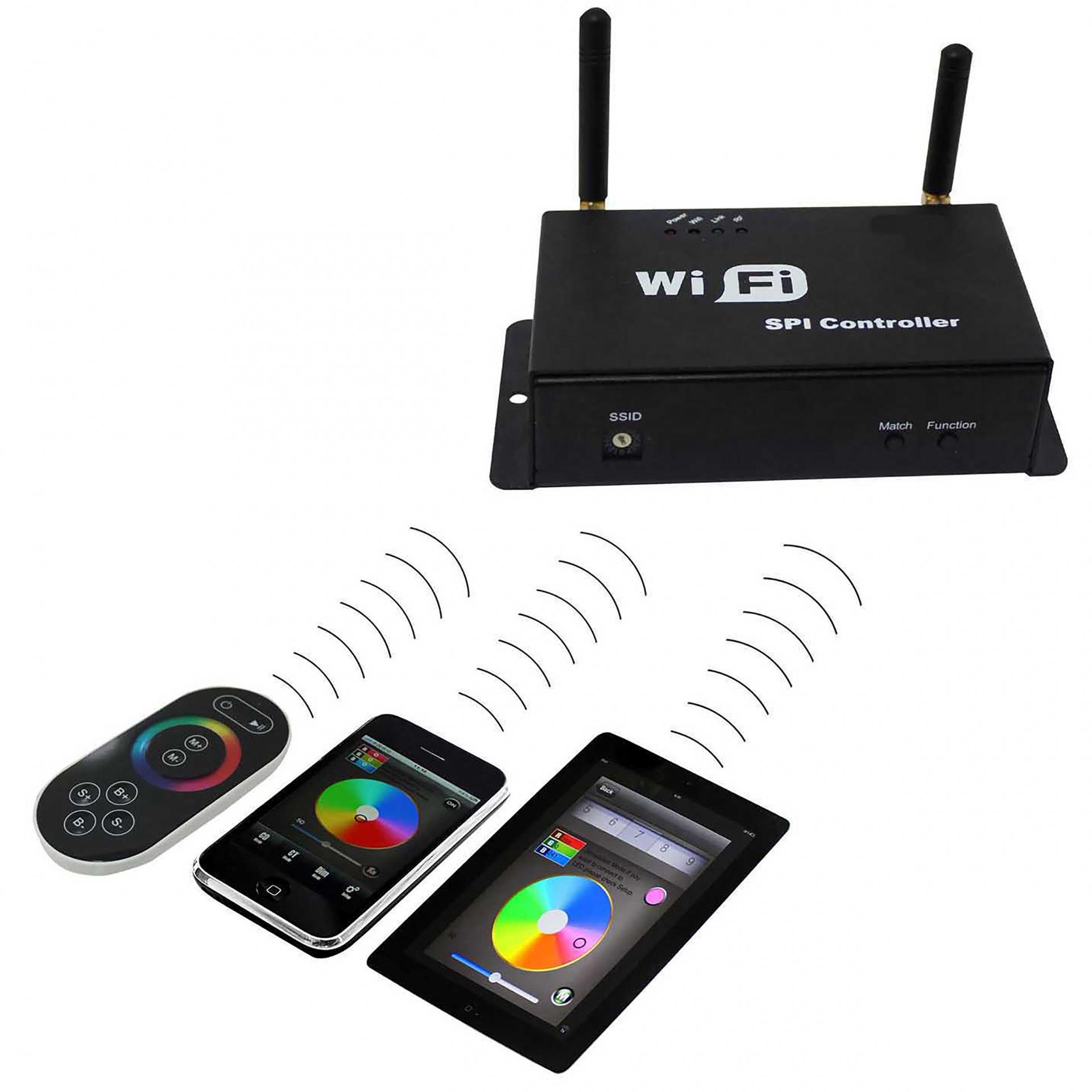 Контроллер Wi-Fi 100 12V/24V max 4A*3CH 36 Вт Lightstar 410984, купить в СПб, Москве, с доставкой, Санкт-Петербург, интернет-магазин люстр и светильников Starlight, фото в жизни