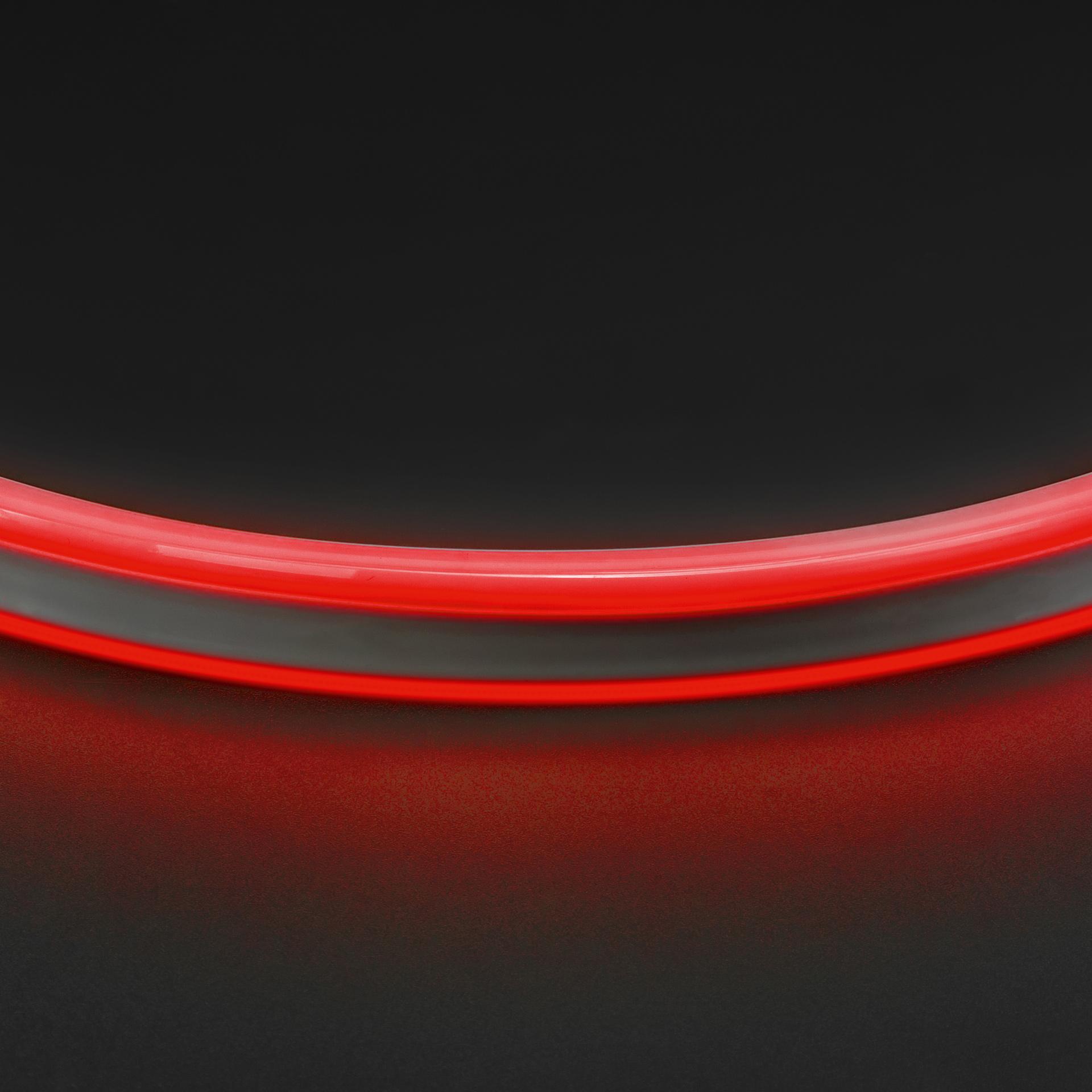 Лента гибкая неоновая NEOLED 220V 120 LED красный цвет IP65 Lightstar 430101, купить в СПб, Москве, с доставкой, Санкт-Петербург, интернет-магазин люстр и светильников Starlight, фото в жизни