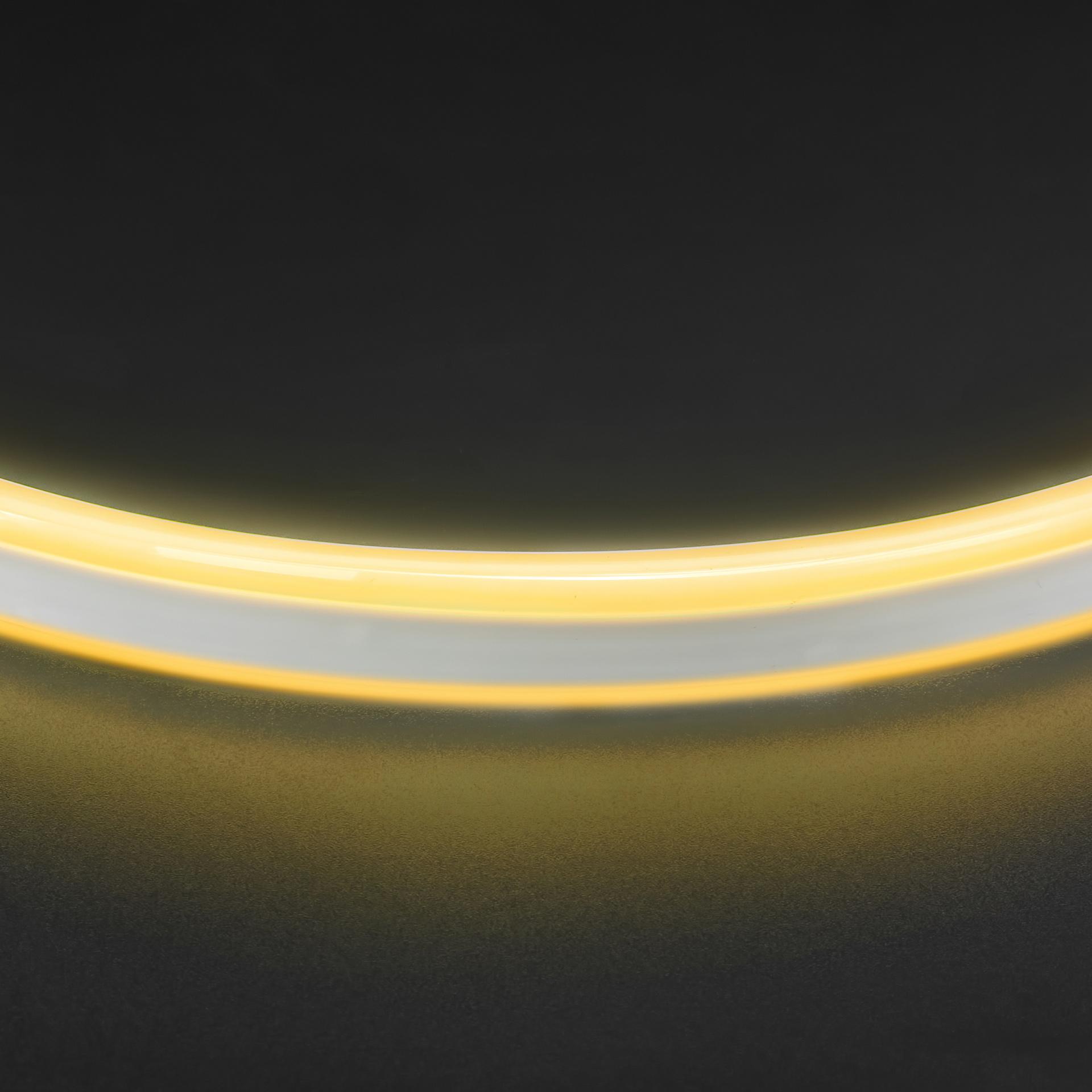 Лента гибкая неоновая NEOLED 220V 120 LED теплый белый цвет IP65 Lightstar 430102, купить в СПб, Москве, с доставкой, Санкт-Петербург, интернет-магазин люстр и светильников Starlight, фото в жизни