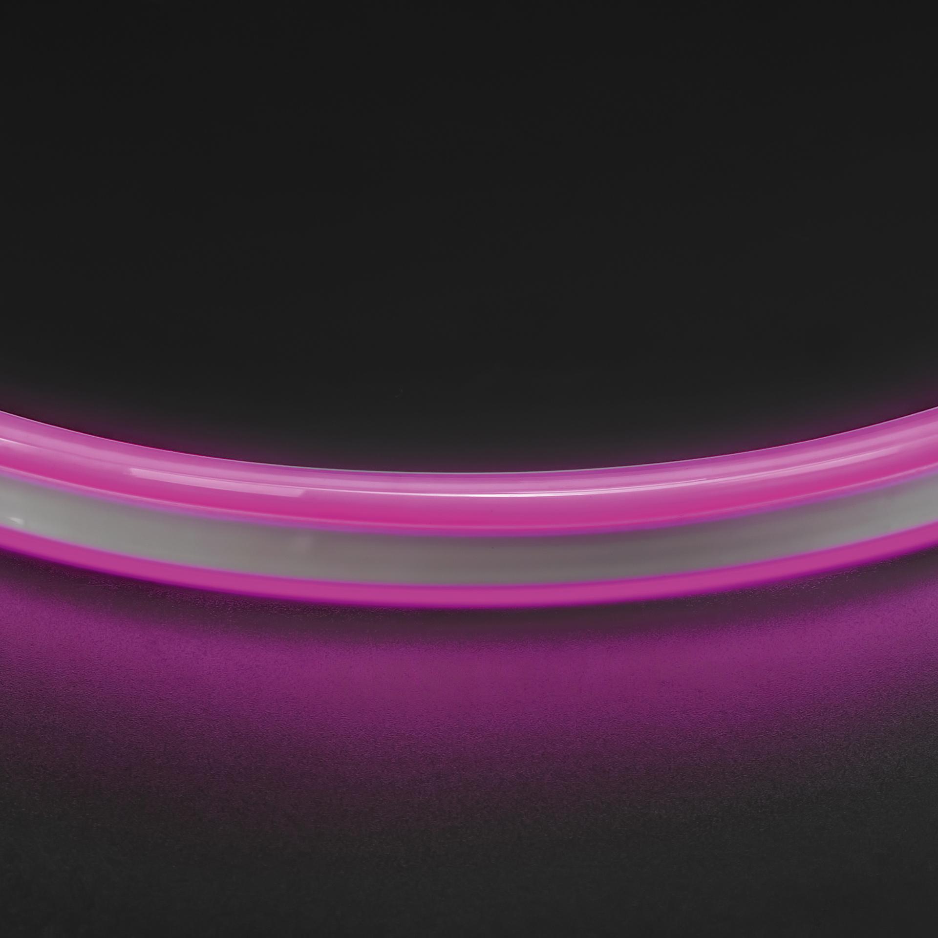 Лента гибкая неоновая NEOLED 220V 120 LED фиолетовый цвет IP65 Lightstar 430108, купить в СПб, Москве, с доставкой, Санкт-Петербург, интернет-магазин люстр и светильников Starlight, фото в жизни