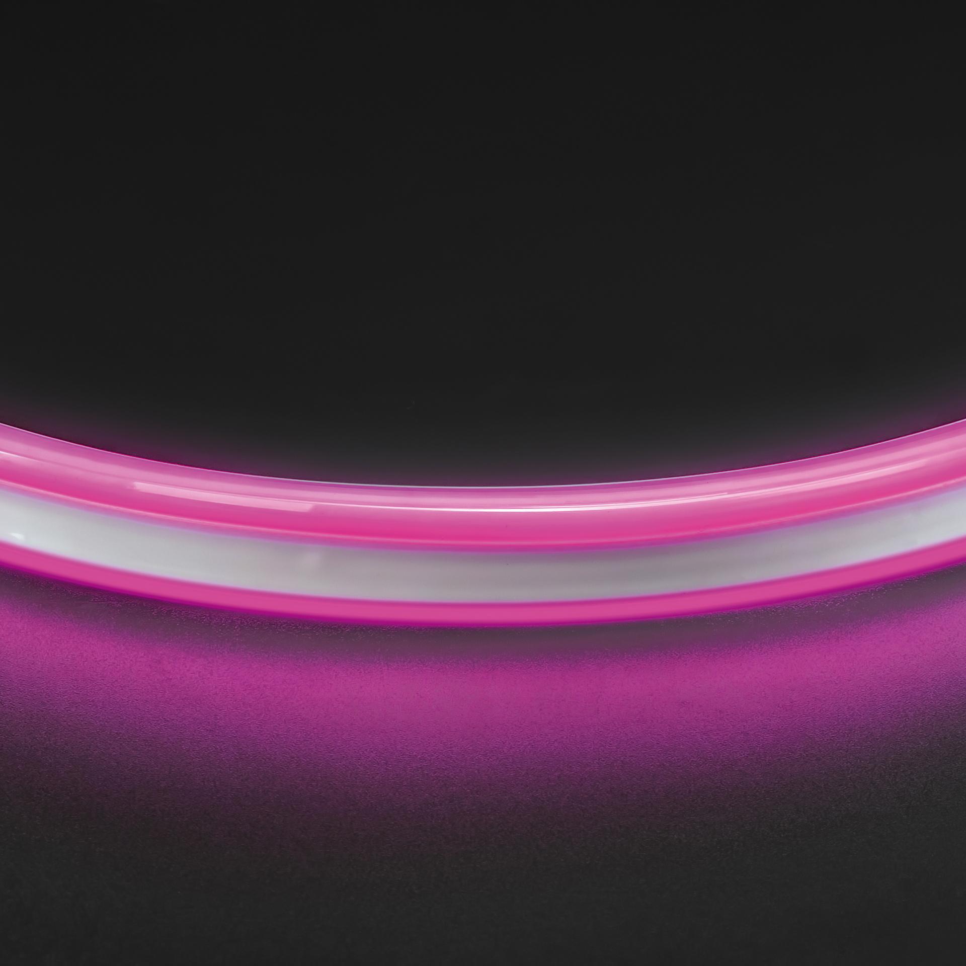 Лента гибкая неоновая NEOLED 220V 120 LED розовый цвет IP65 Lightstar 430109, купить в СПб, Москве, с доставкой, Санкт-Петербург, интернет-магазин люстр и светильников Starlight, фото в жизни