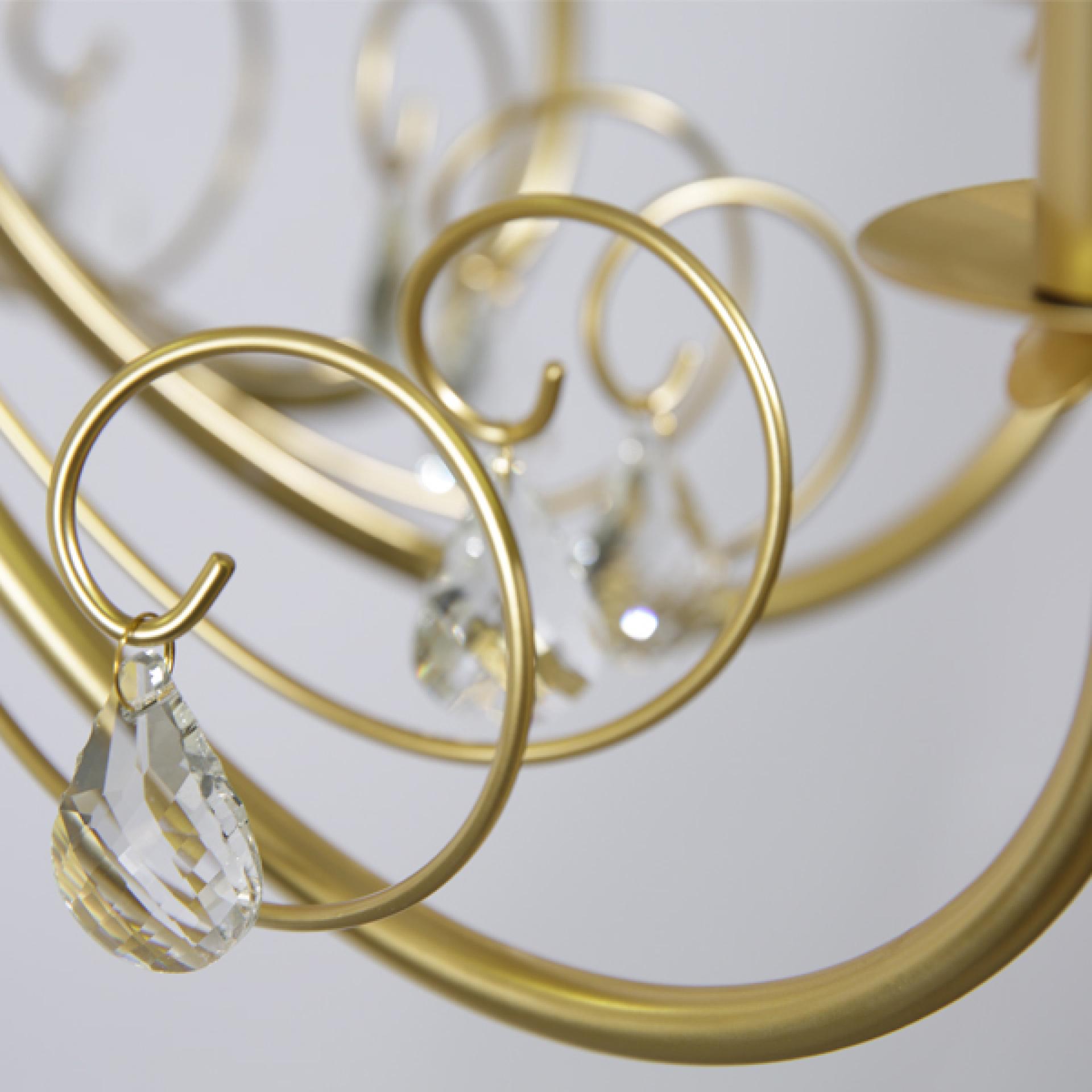 Люстра подвесная Modesto 5х40W E14 золото Lightstar 781052, купить в СПб, Москве, с доставкой, Санкт-Петербург, интернет-магазин люстр и светильников Starlight, фото в жизни