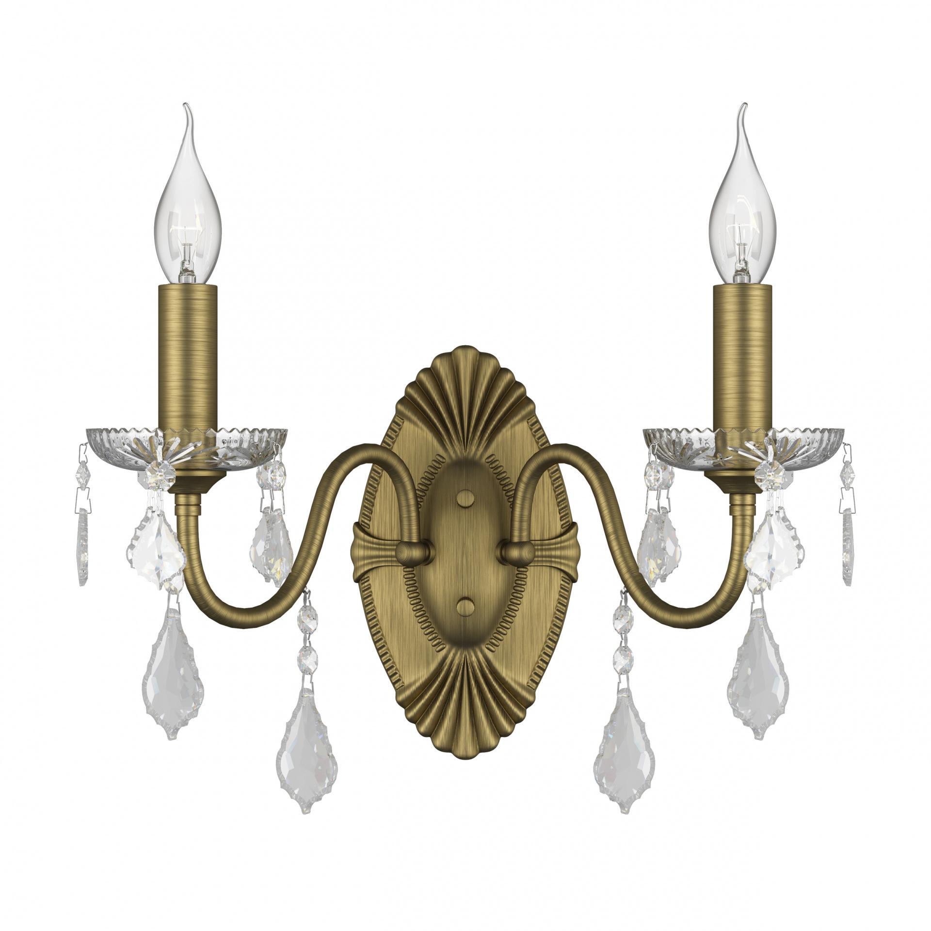 Бра Classic 2х60W E14 бронза Osgona 700621, купить в СПб, Москве, с доставкой, Санкт-Петербург, интернет-магазин люстр и светильников Starlight, фото в жизни