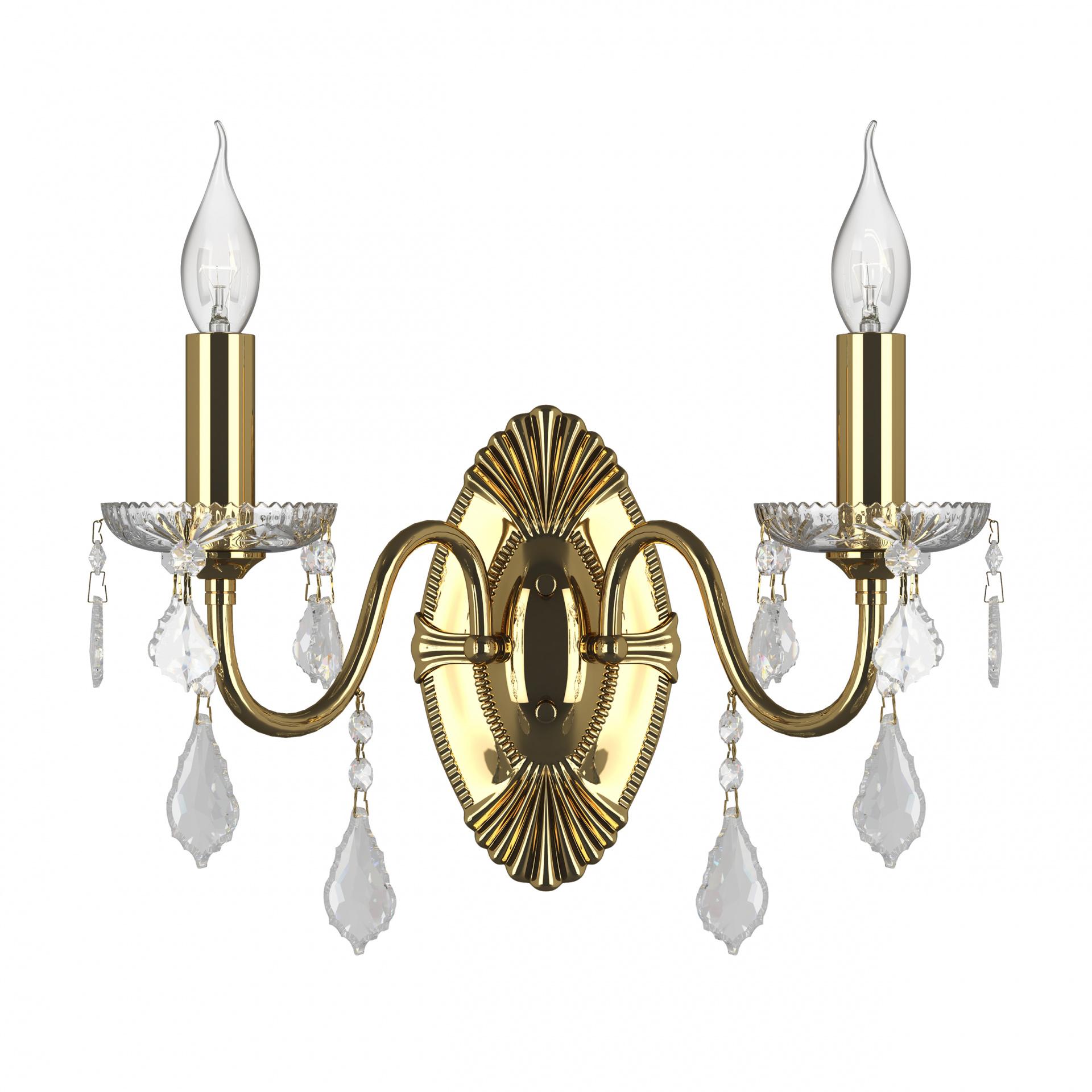 Бра Classic 2х60W E14 золото Osgona 700622, купить в СПб, Москве, с доставкой, Санкт-Петербург, интернет-магазин люстр и светильников Starlight, фото в жизни