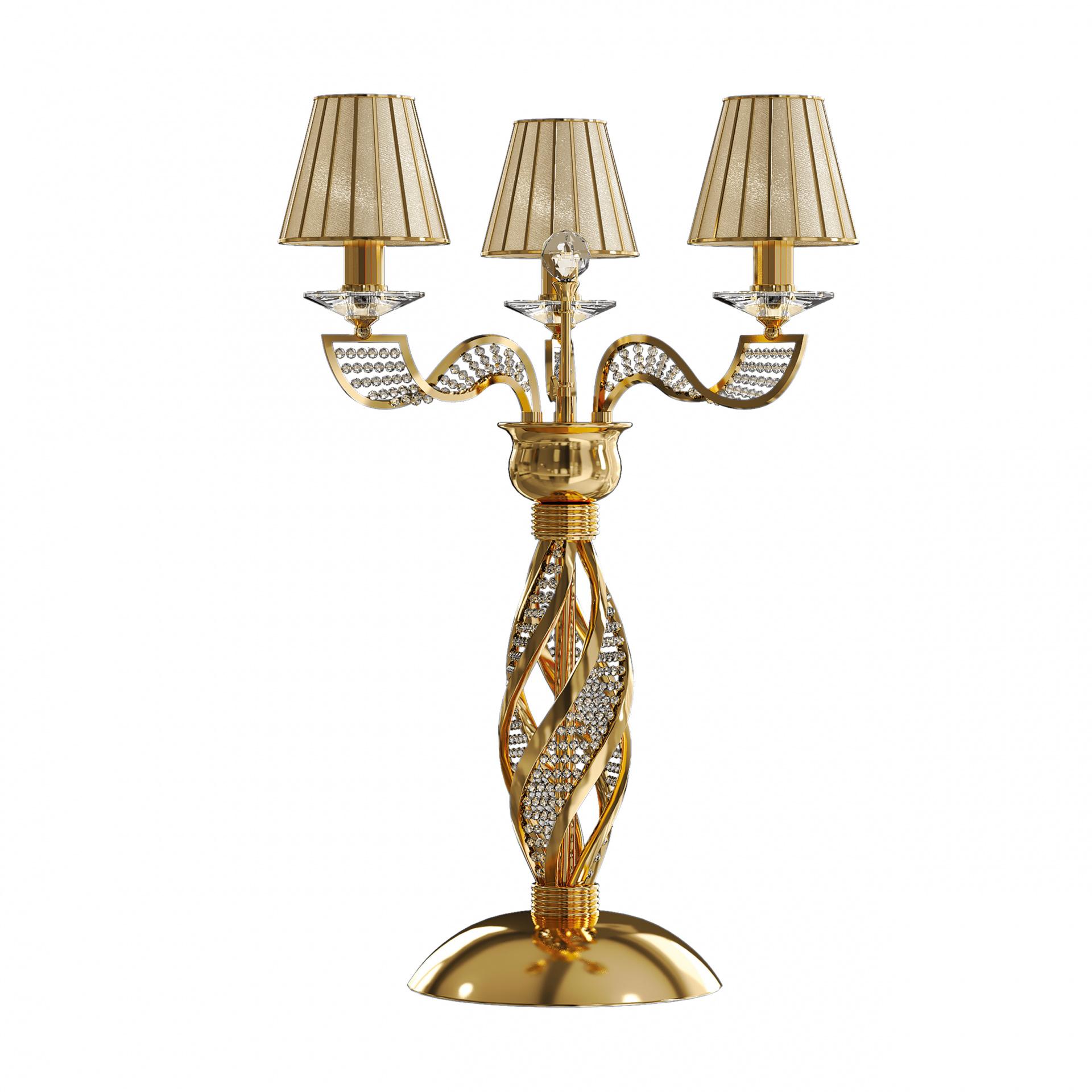 Настольная лампа Alveare 3х40W E14 золото Osgona 702932, купить в СПб, Москве, с доставкой, Санкт-Петербург, интернет-магазин люстр и светильников Starlight, фото в жизни