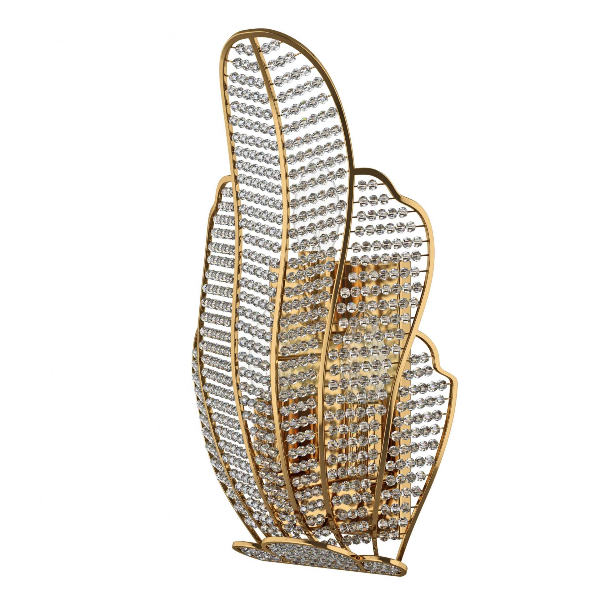 Бра Ricerco 3х60W E14 золото Osgona 705632, купить в СПб, Москве, с доставкой, Санкт-Петербург, интернет-магазин люстр и светильников Starlight, фото в жизни