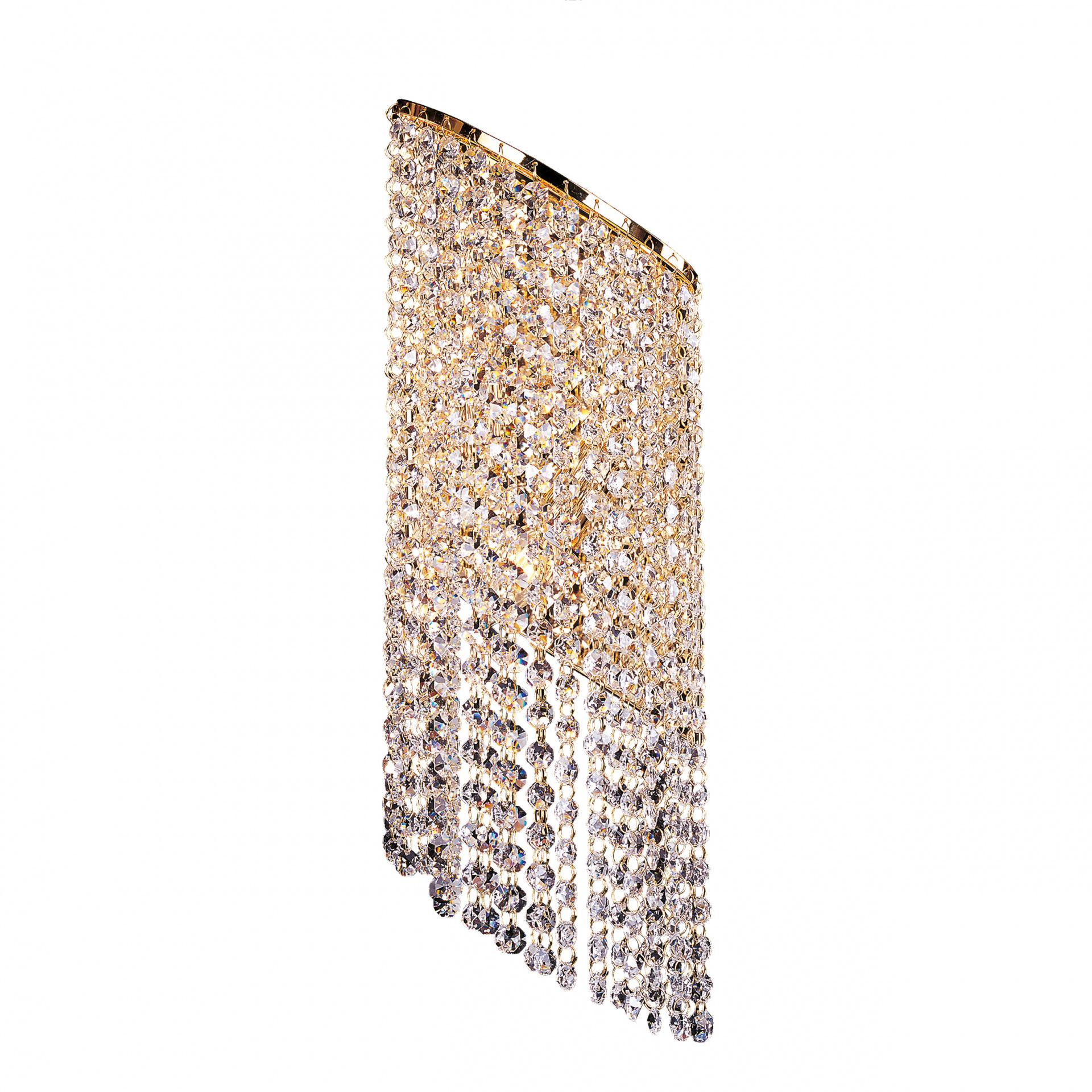 Бра Nuvola 2х40W E14 24K золото Osgona 709622, купить в СПб, Москве, с доставкой, Санкт-Петербург, интернет-магазин люстр и светильников Starlight, фото в жизни