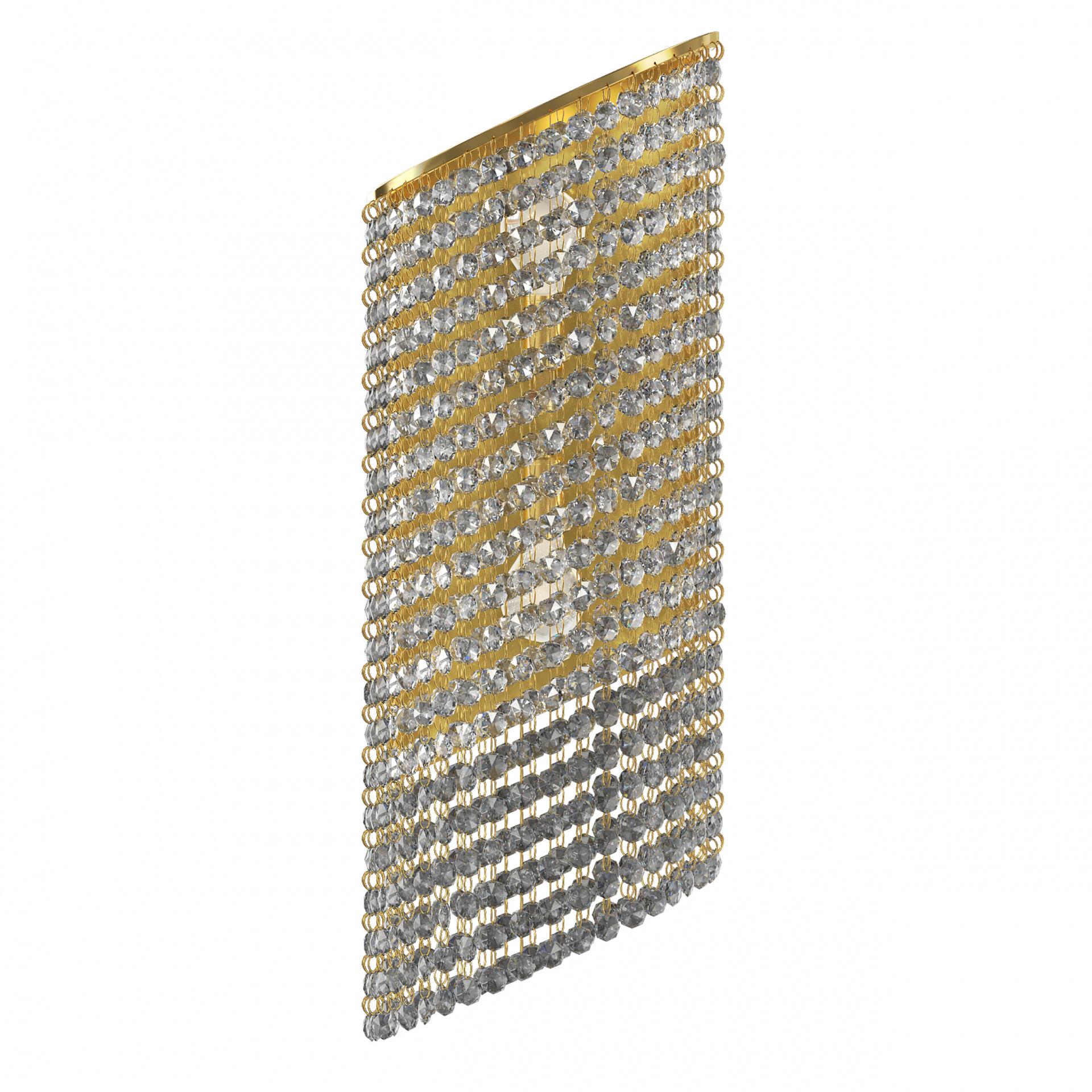 Бра Nuvola 2х40W E14 24K золото Osgona 709632, купить в СПб, Москве, с доставкой, Санкт-Петербург, интернет-магазин люстр и светильников Starlight, фото в жизни