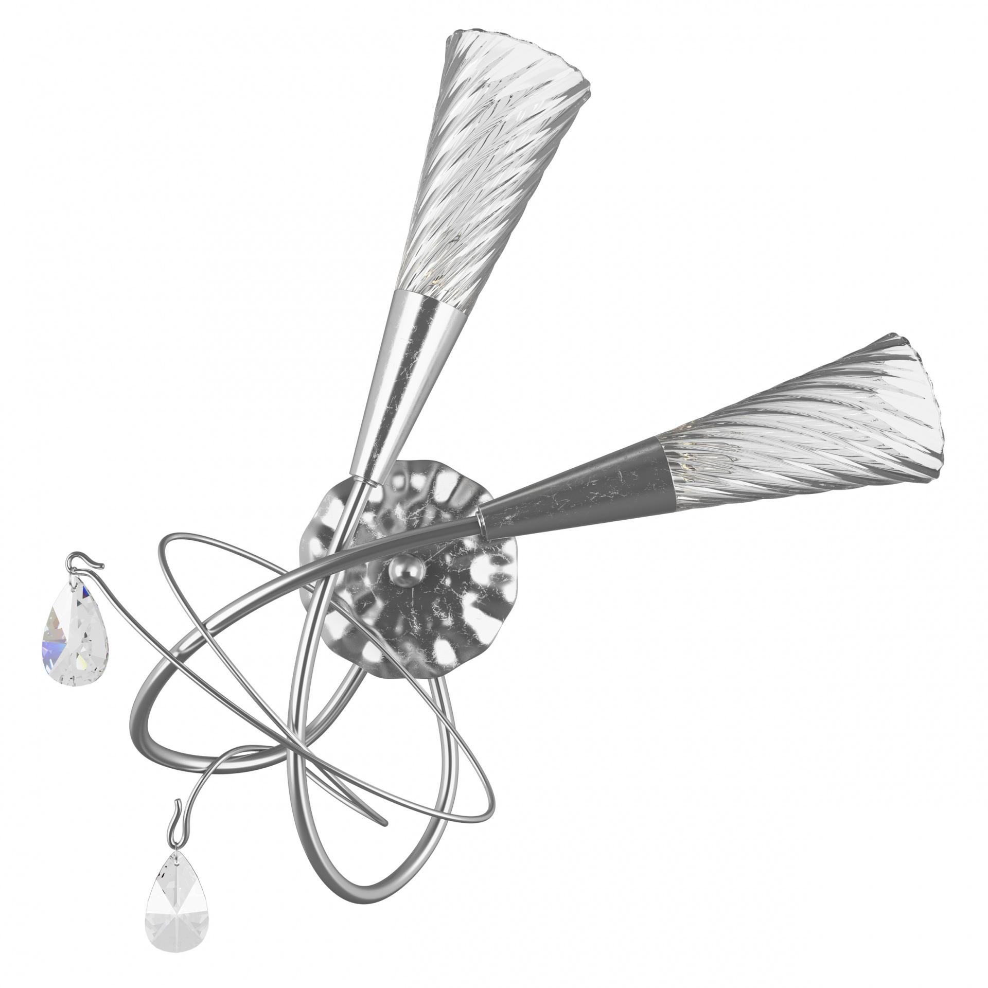 Бра Aereo 2х25W G9 silver foil Lightstar 711639, купить в СПб, Москве, с доставкой, Санкт-Петербург, интернет-магазин люстр и светильников Starlight, фото в жизни
