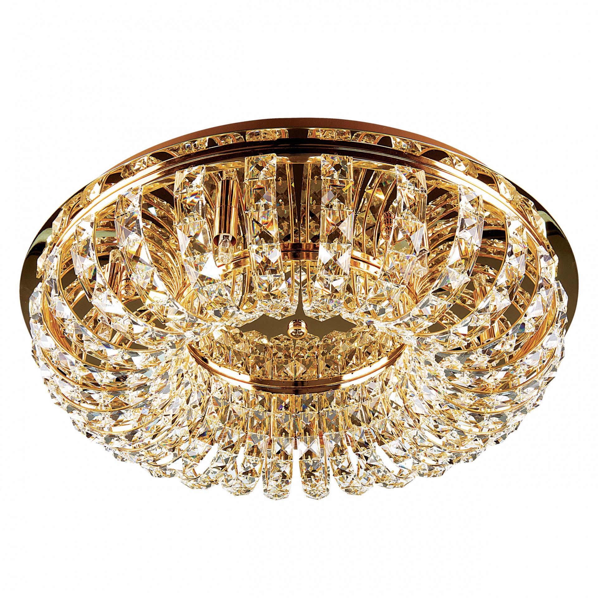 Плафон потолочный Onda 7х40W G9 золото Lightstar 741072, купить в СПб, Москве, с доставкой, Санкт-Петербург, интернет-магазин люстр и светильников Starlight, фото в жизни
