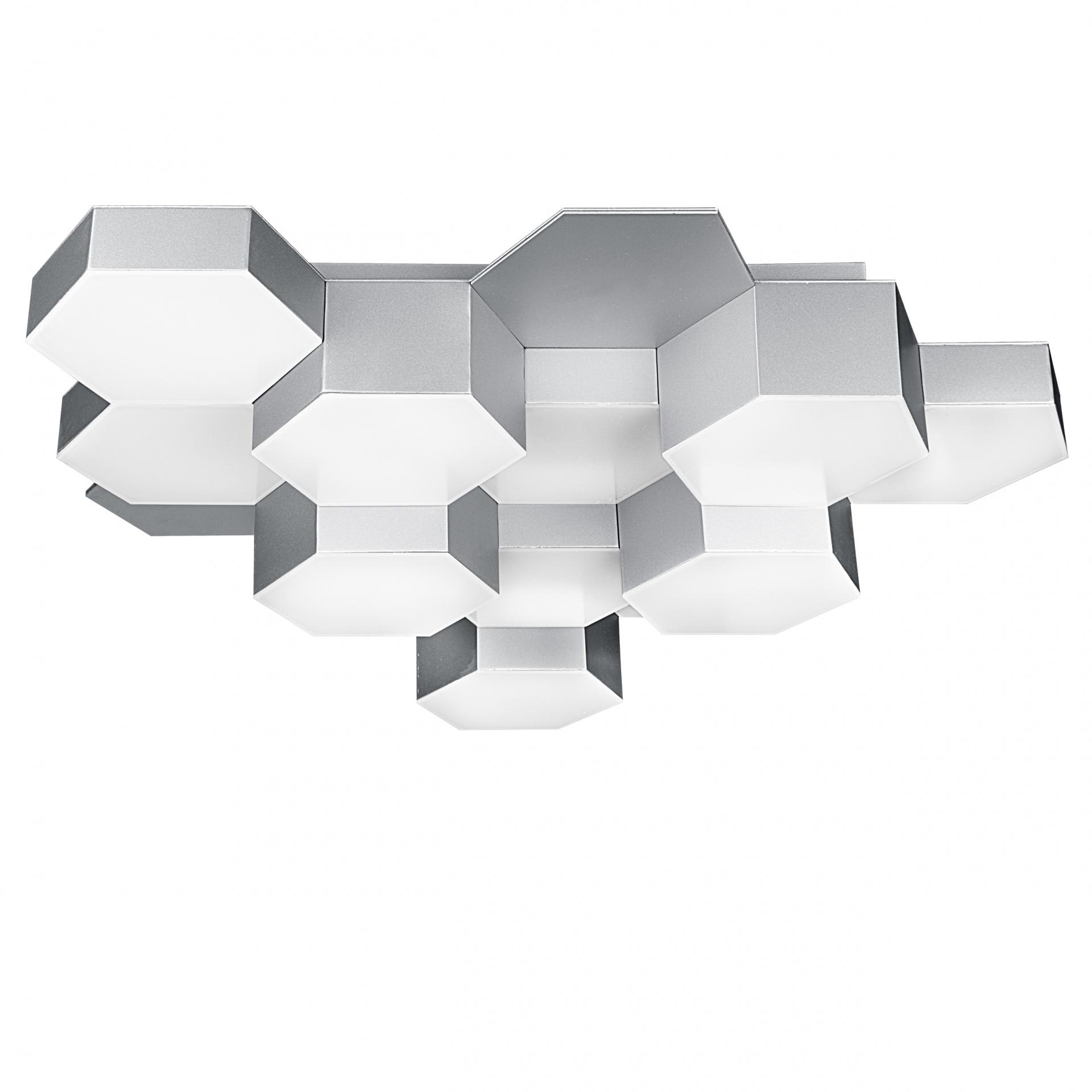 Люстра потолочная Favo LED-60W 2880LM silver 4000K Lightstar 750124, купить в СПб, Москве, с доставкой, Санкт-Петербург, интернет-магазин люстр и светильников Starlight, фото в жизни