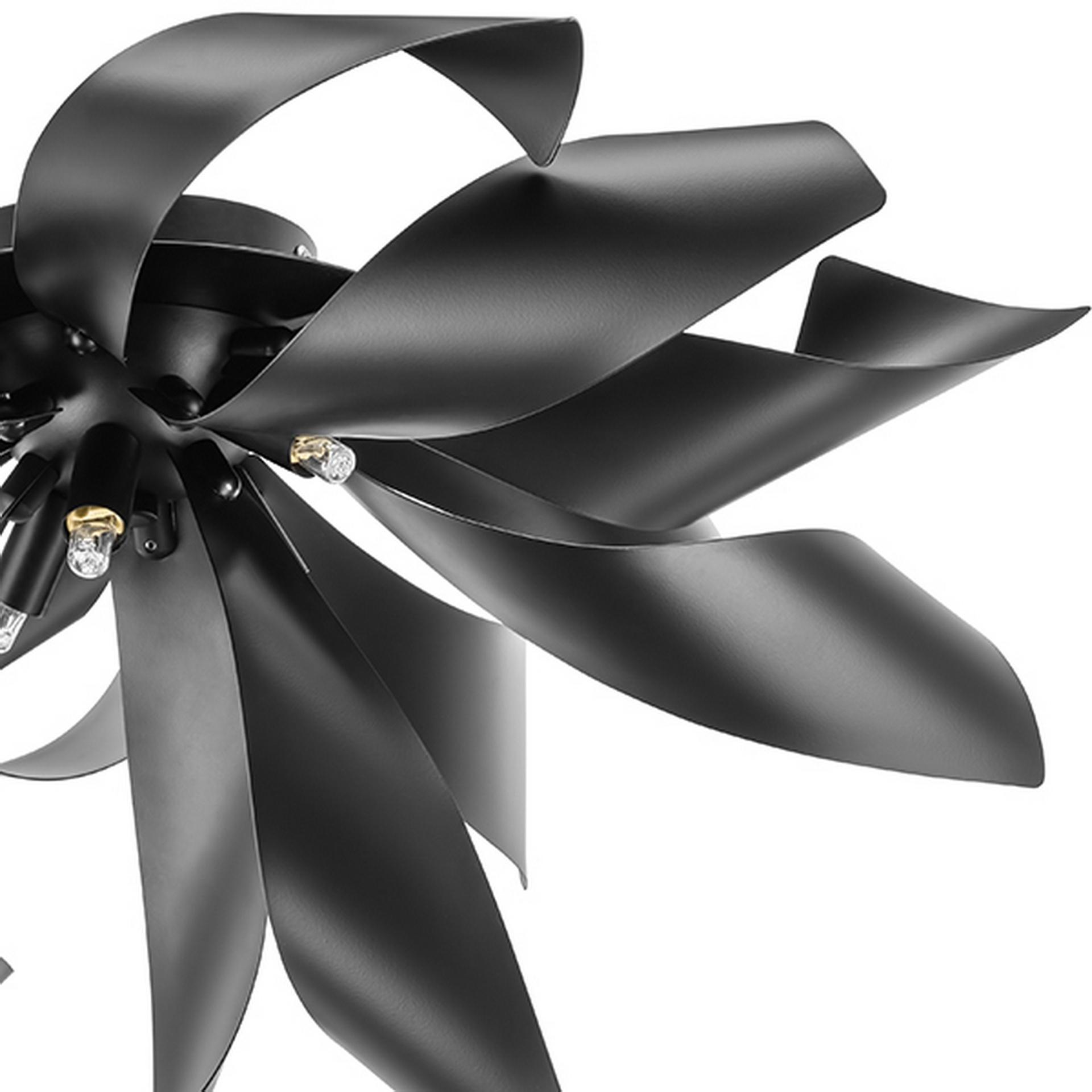 Люстра потолочная Turbio 6Х40W G9 матовая чёрная Lightstar 754167, купить в СПб, Москве, с доставкой, Санкт-Петербург, интернет-магазин люстр и светильников Starlight, фото в жизни
