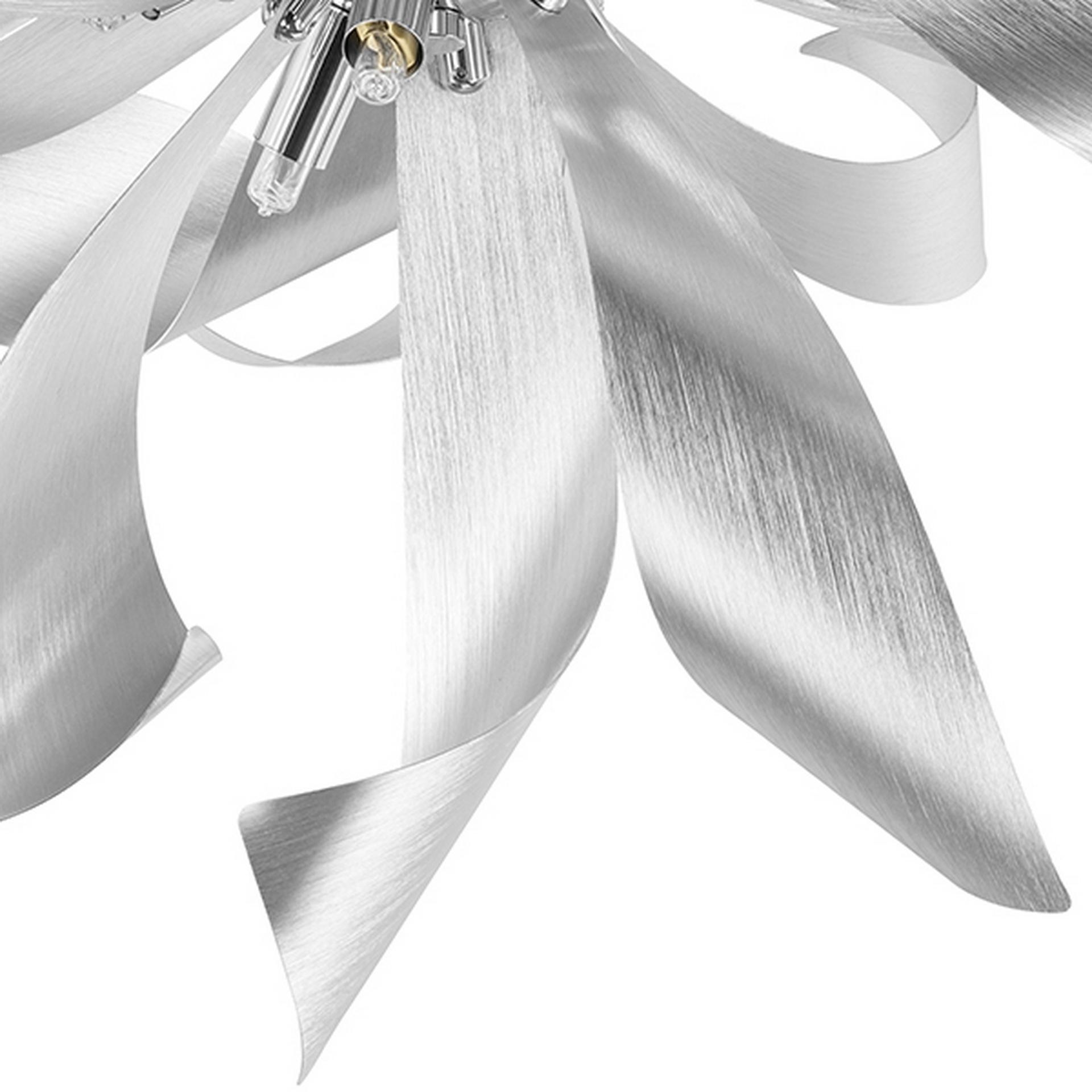 Люстра потолочная Turbio 6Х40W G9 satin alu Lightstar 754169, купить в СПб, Москве, с доставкой, Санкт-Петербург, интернет-магазин люстр и светильников Starlight, фото в жизни