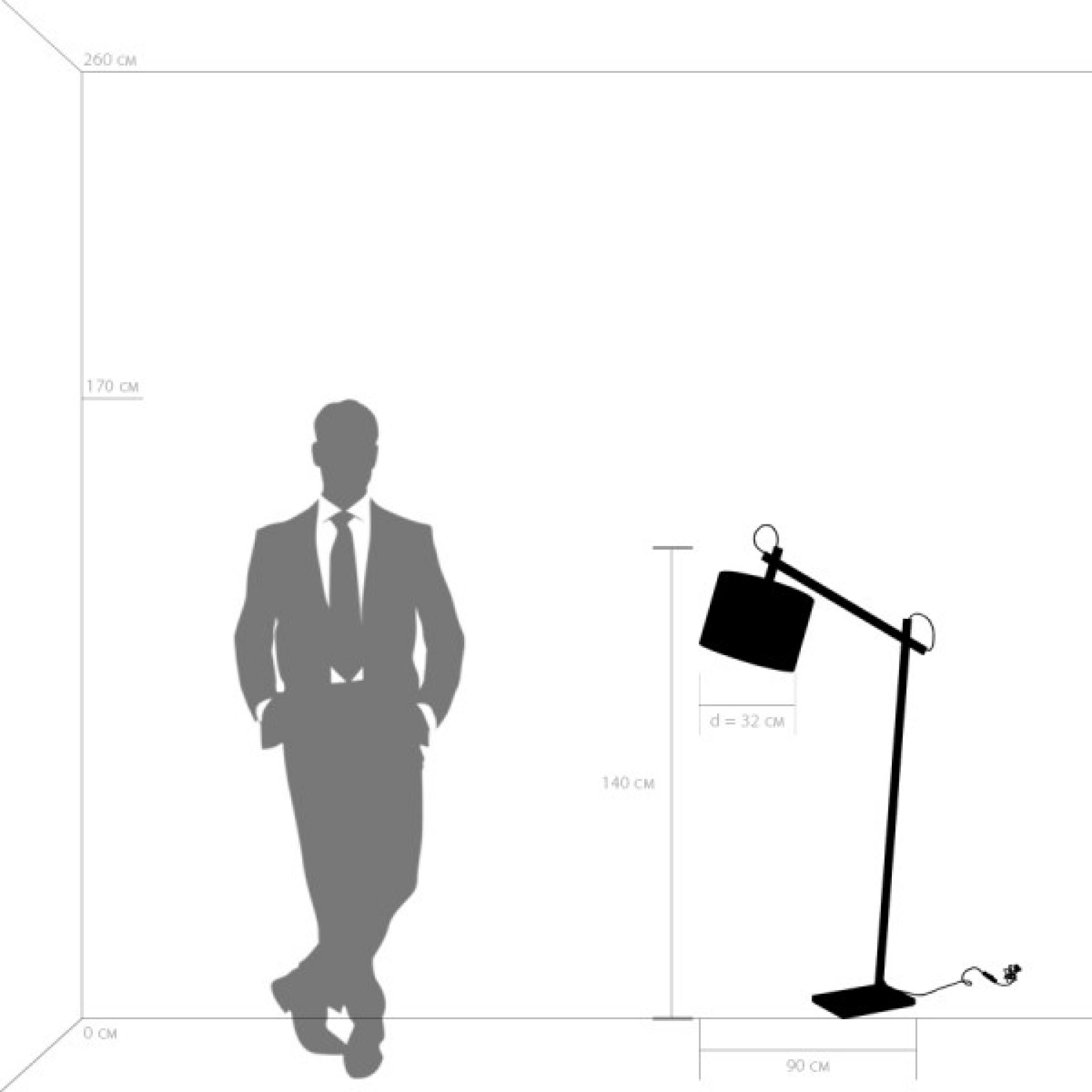 Торшер MECCANO 1х60W E27 хром / белый ткань Lightstar 766719, купить в СПб, Москве, с доставкой, Санкт-Петербург, интернет-магазин люстр и светильников Starlight, фото в жизни