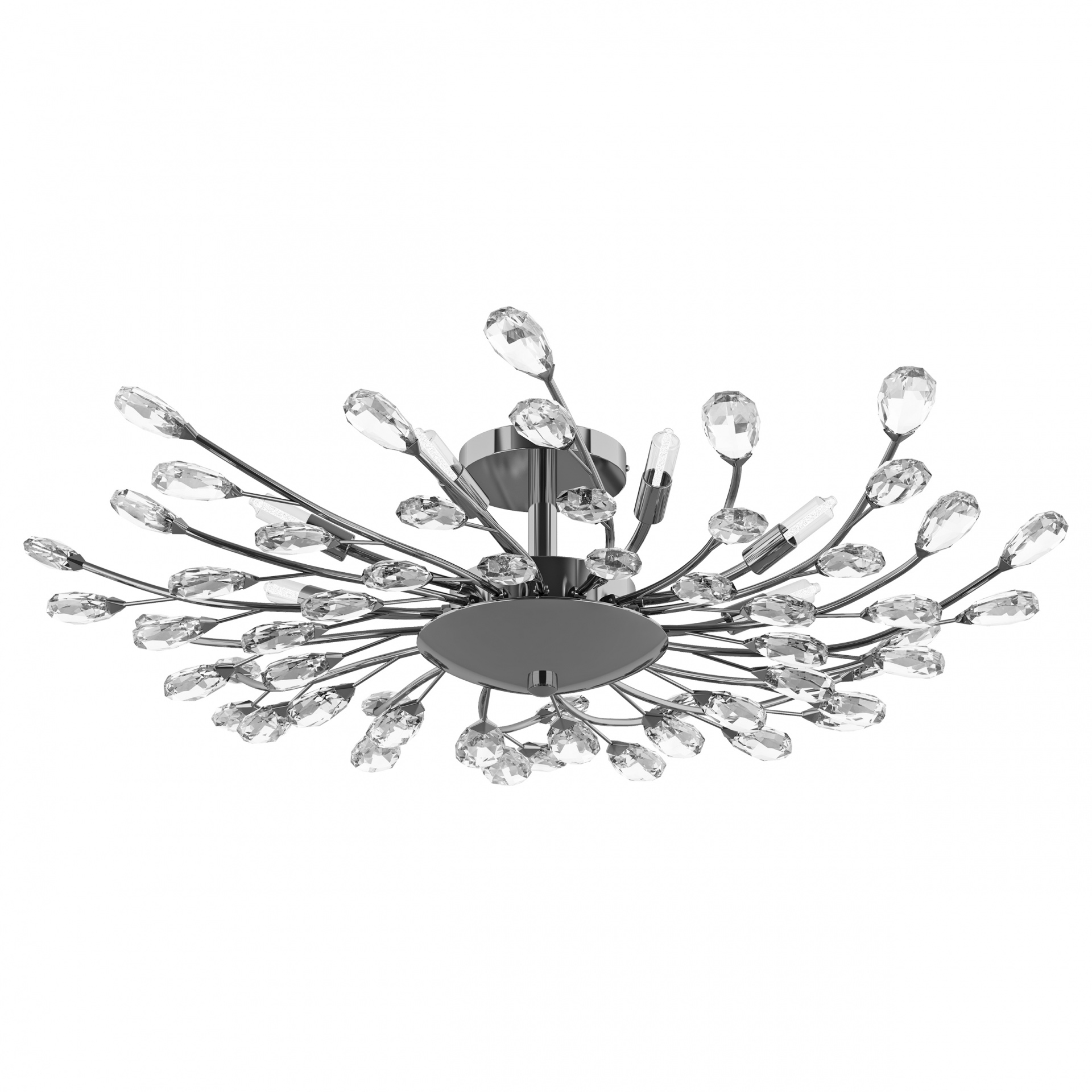 Люстра потолочная Isabelle 8х40W G9 хром Lightstar 791184, купить в СПб, Москве, с доставкой, Санкт-Петербург, интернет-магазин люстр и светильников Starlight, фото в жизни