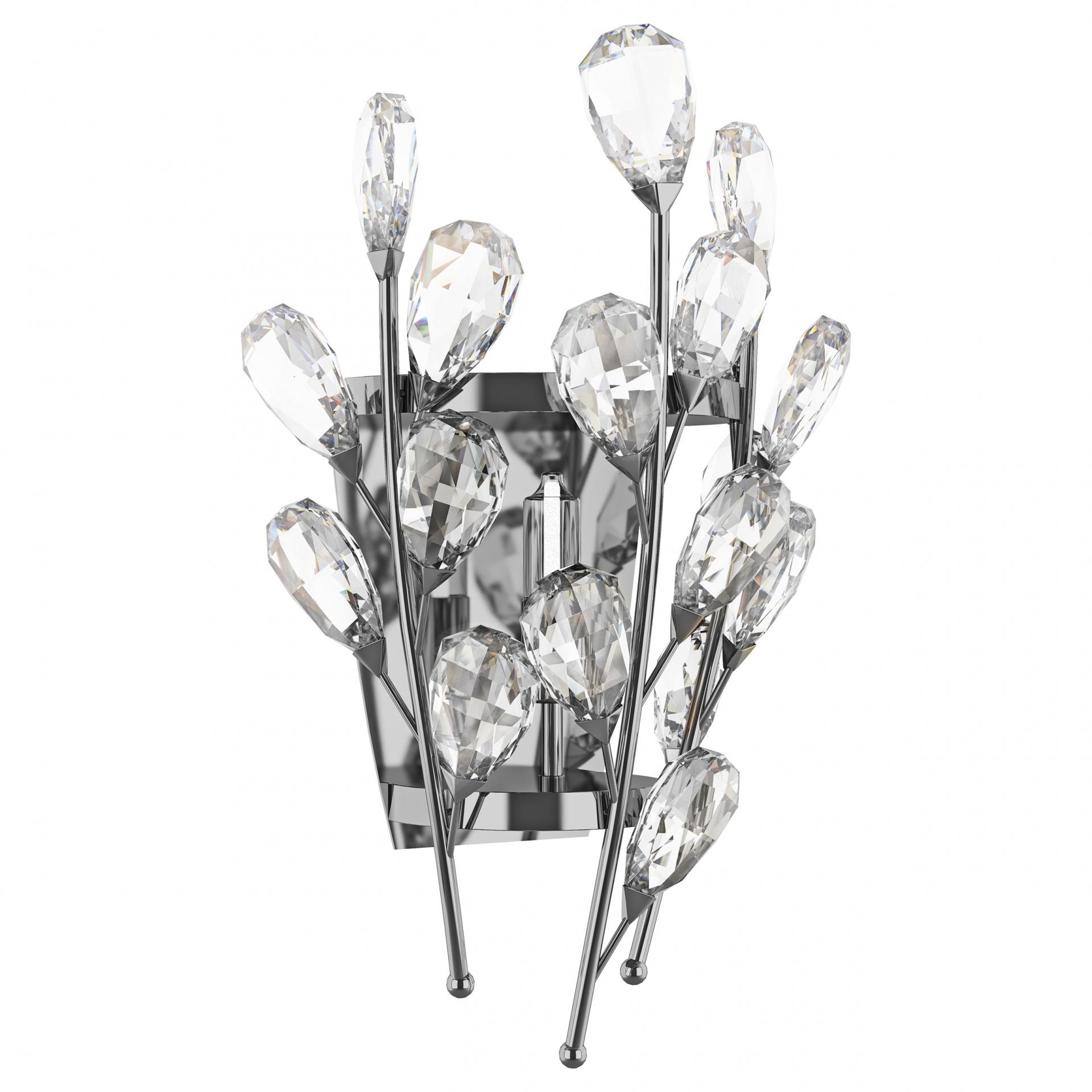 Бра Isabelle 1х40W G9 хром Lightstar 791614, купить в СПб, Москве, с доставкой, Санкт-Петербург, интернет-магазин люстр и светильников Starlight, фото в жизни
