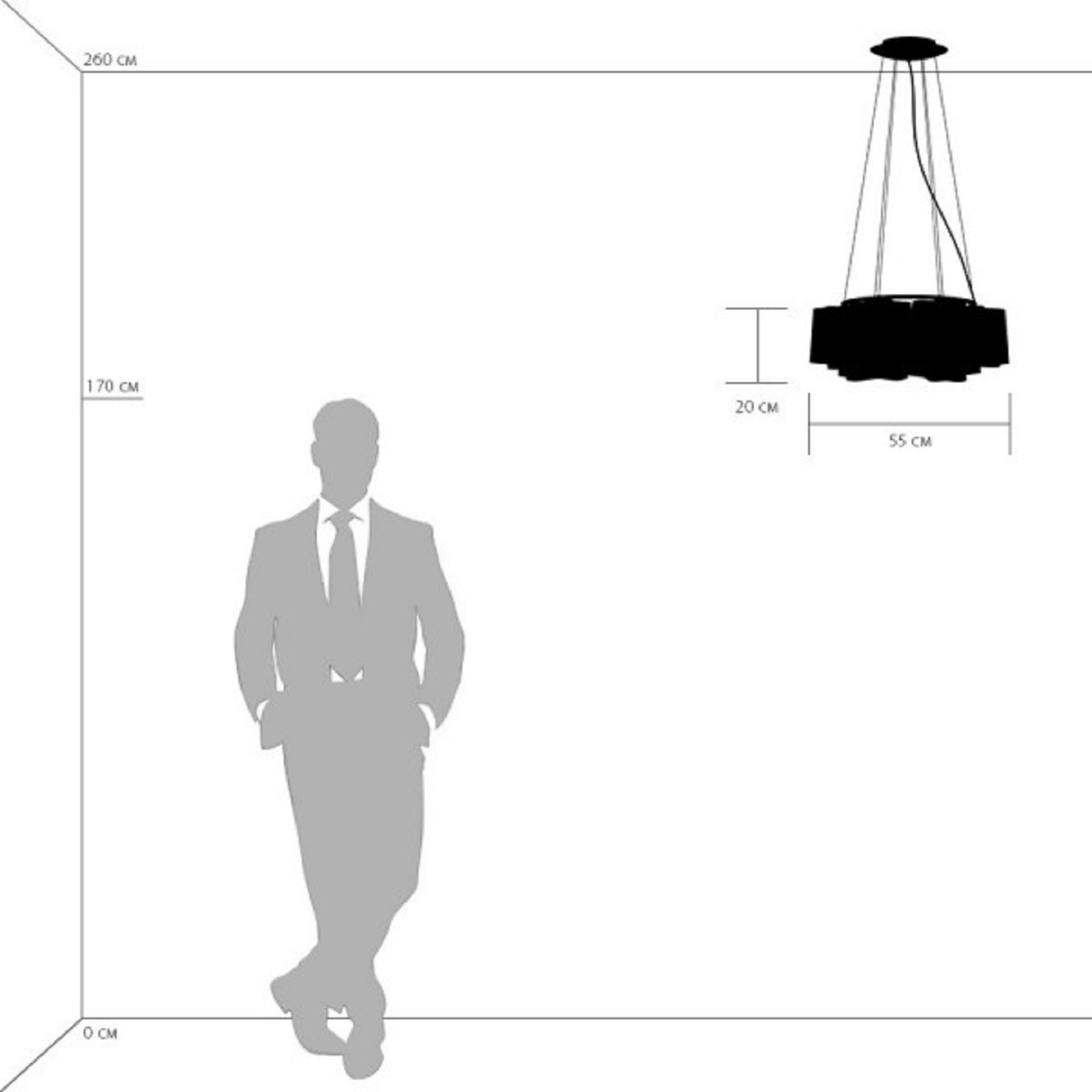 Люстра подвесная NUBI Legno 6x40W E27 светлое дерево / белый Lightstar 802165, купить в СПб, Москве, с доставкой, Санкт-Петербург, интернет-магазин люстр и светильников Starlight, фото в жизни