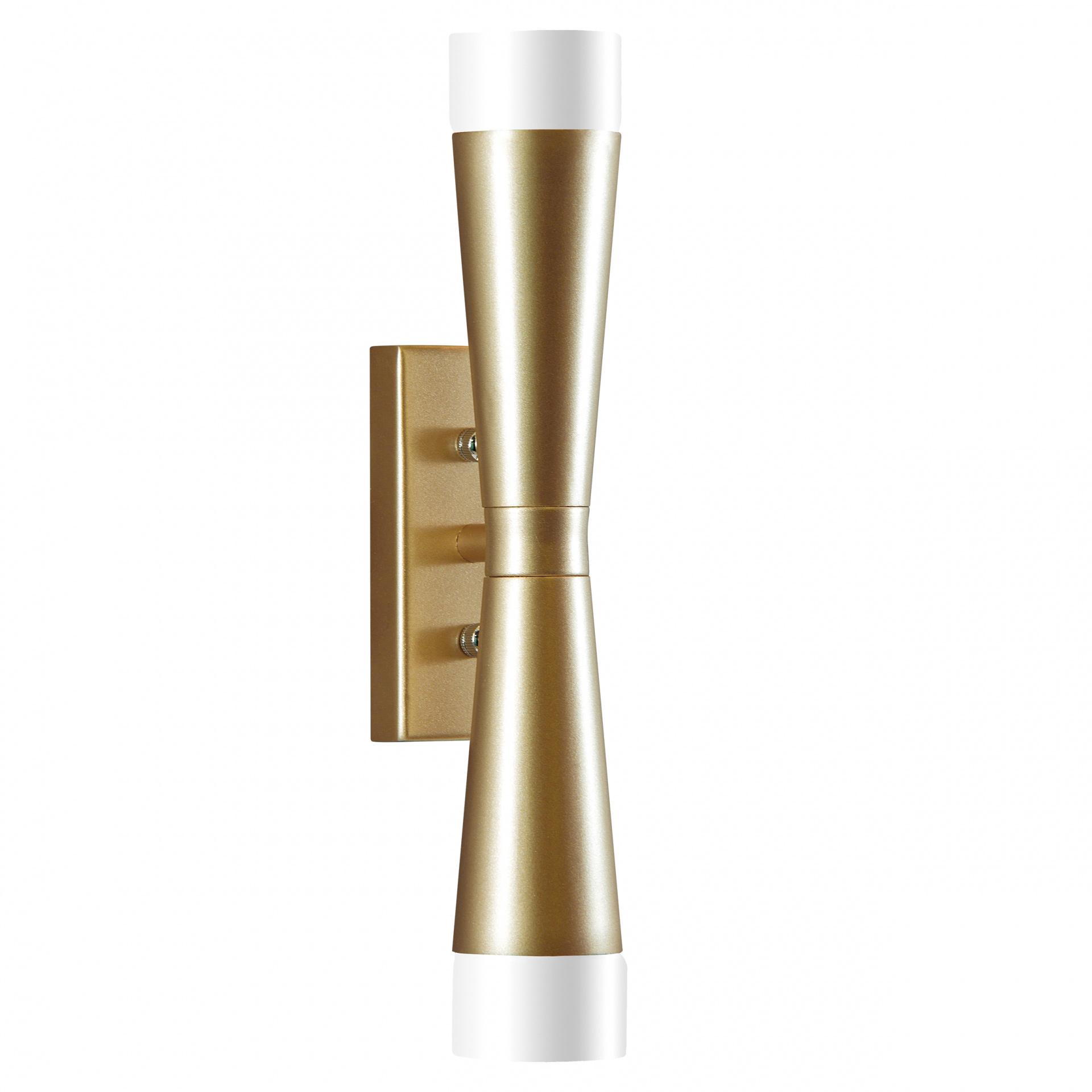 Бра Punto 2х7W G9 (Led) шампань Lightstar 807623, купить в СПб, Москве, с доставкой, Санкт-Петербург, интернет-магазин люстр и светильников Starlight, фото в жизни