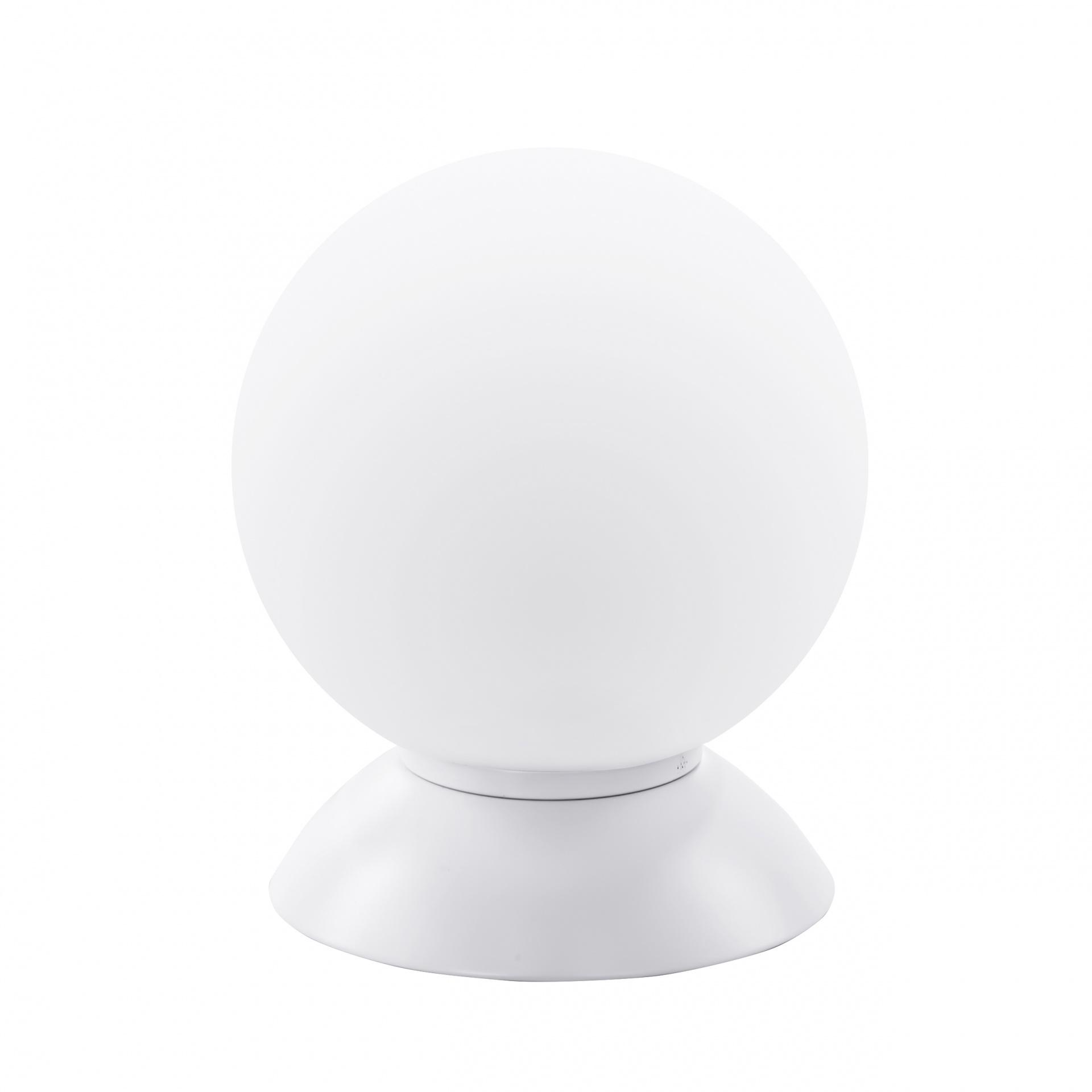 Настольная лампа Globo 1х40W E14 mute white/white Lightstar 813916, купить в СПб, Москве, с доставкой, Санкт-Петербург, интернет-магазин люстр и светильников Starlight, фото в жизни