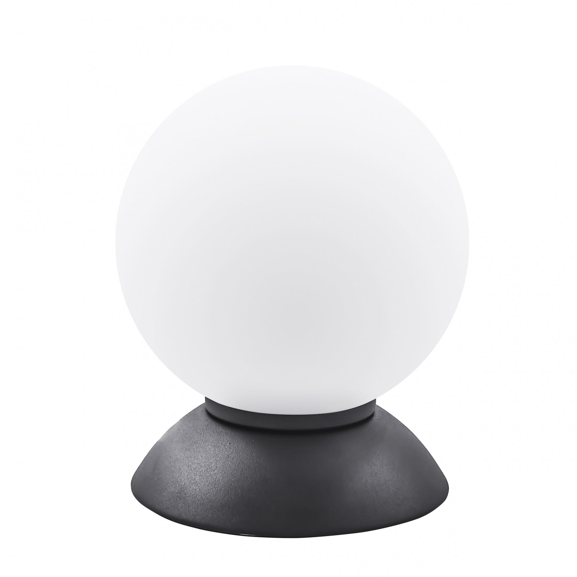 Настольная лампа Globo 1х40W E14 Black/white Lightstar 813917, купить в СПб, Москве, с доставкой, Санкт-Петербург, интернет-магазин люстр и светильников Starlight, фото в жизни