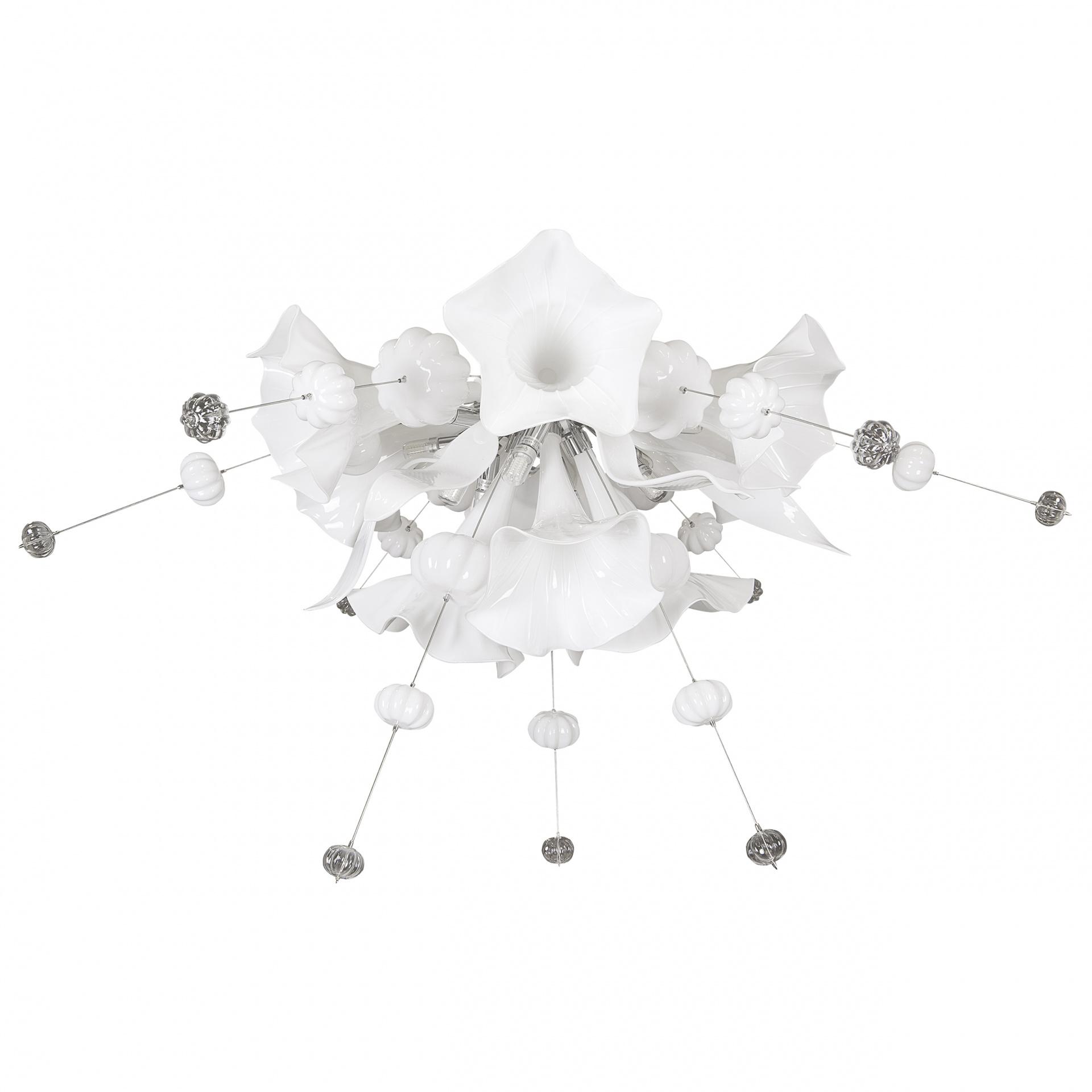 Люстра потолочная Celesta 12х6W (Led) G9 чисто белый Lightstar 893026, купить в СПб, Москве, с доставкой, Санкт-Петербург, интернет-магазин люстр и светильников Starlight, фото в жизни