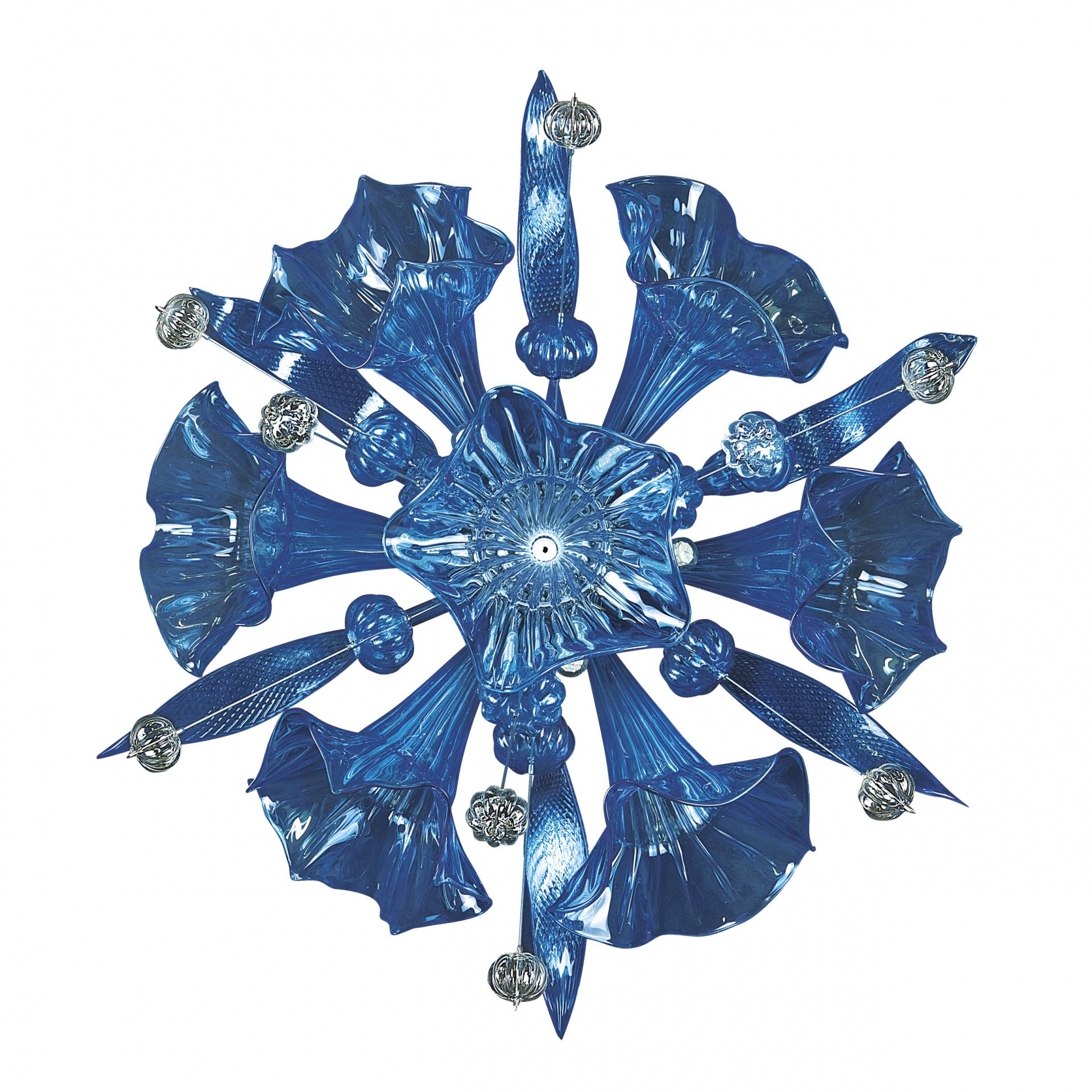 Бра Celesta 6х6W (Led) G9 sky blue Lightstar 893621, купить в СПб, Москве, с доставкой, Санкт-Петербург, интернет-магазин люстр и светильников Starlight, фото в жизни