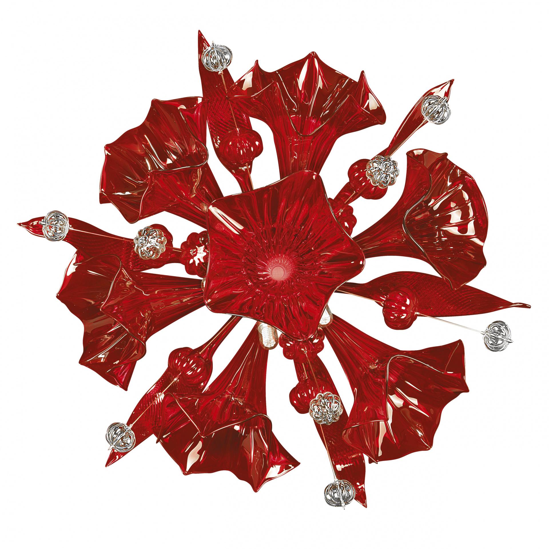 Бра Celesta 6х6W (Led) G9 red Lightstar 893622, купить в СПб, Москве, с доставкой, Санкт-Петербург, интернет-магазин люстр и светильников Starlight, фото в жизни