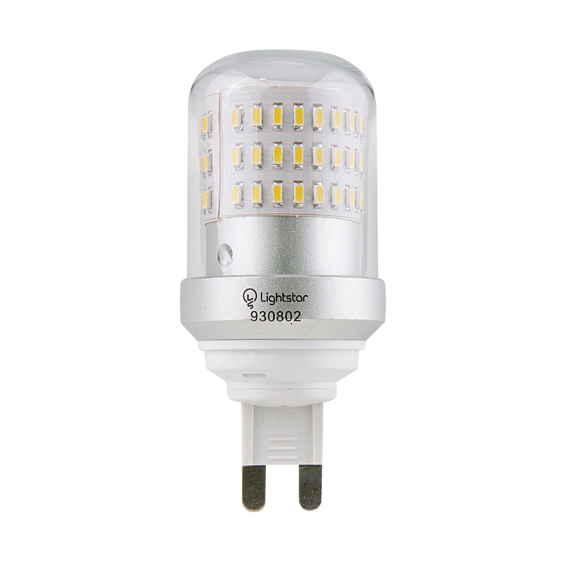 Лампа LED 220V T35 G9 9W=90W 850LM 360G CL 3000K 20000H Lightstar 930802, купить в СПб, Москве, с доставкой, Санкт-Петербург, интернет-магазин люстр и светильников Starlight, фото в жизни