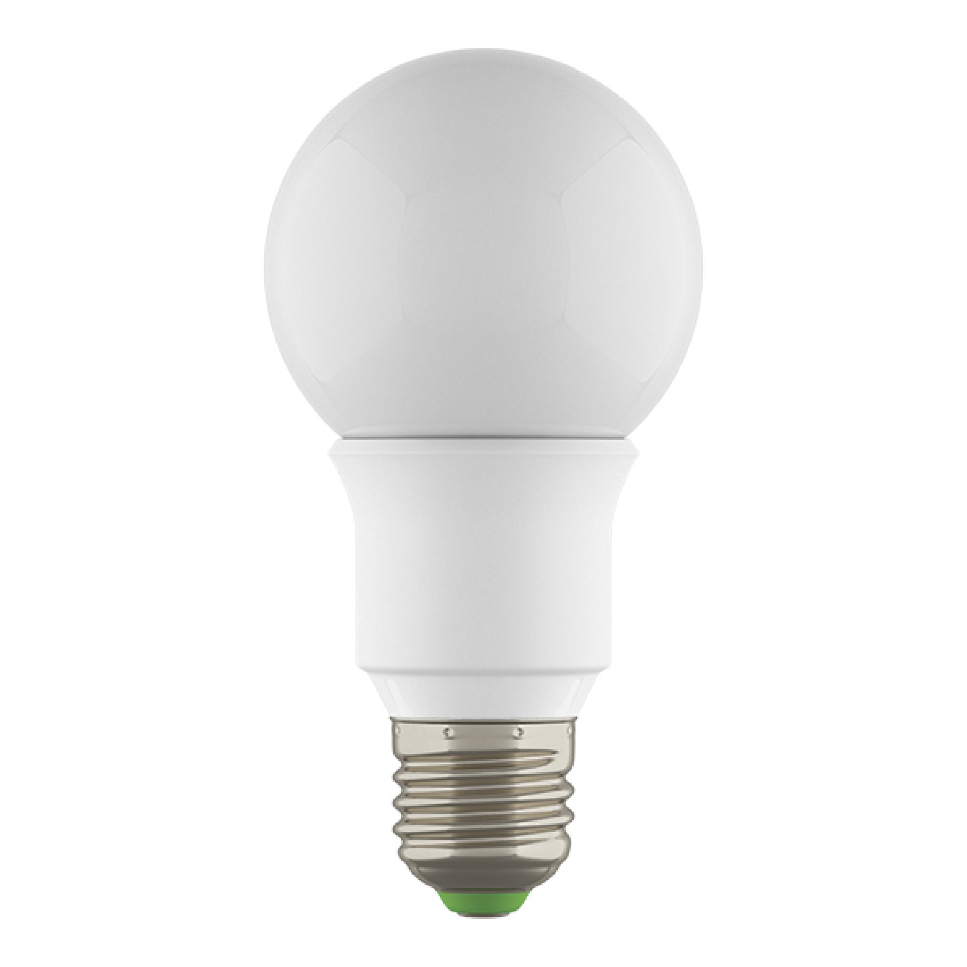 Лампа LED 220V A60 E27 6W=60W 500LM 360G WH 3000K 20000H DIMM Lightstar 931002, купить в СПб, Москве, с доставкой, Санкт-Петербург, интернет-магазин люстр и светильников Starlight, фото в жизни