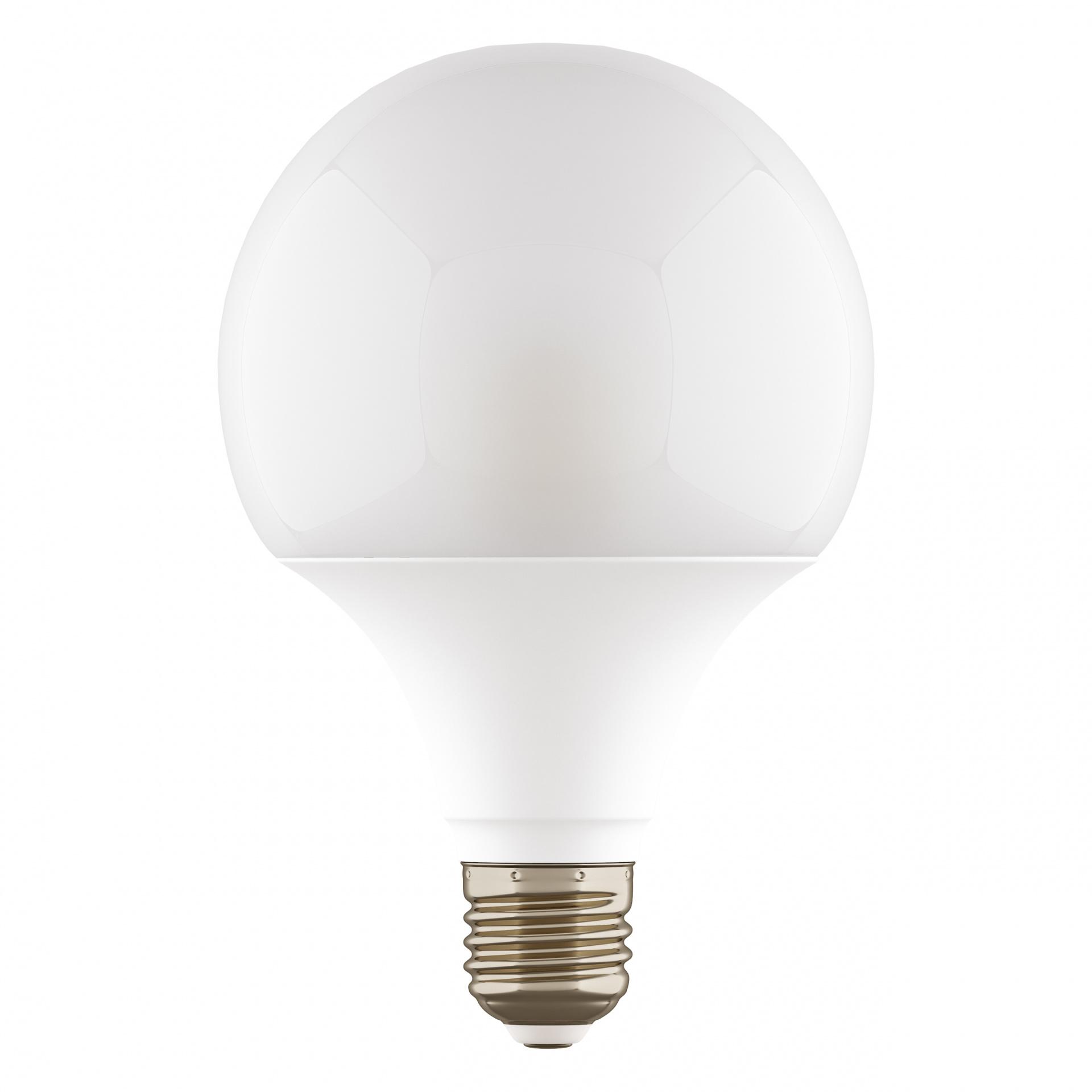 Лампа LED 220V G95 E27 12W=120W 1100LM 180G WH 4000K 20000H DIMM Lightstar 931304, купить в СПб, Москве, с доставкой, Санкт-Петербург, интернет-магазин люстр и светильников Starlight, фото в жизни