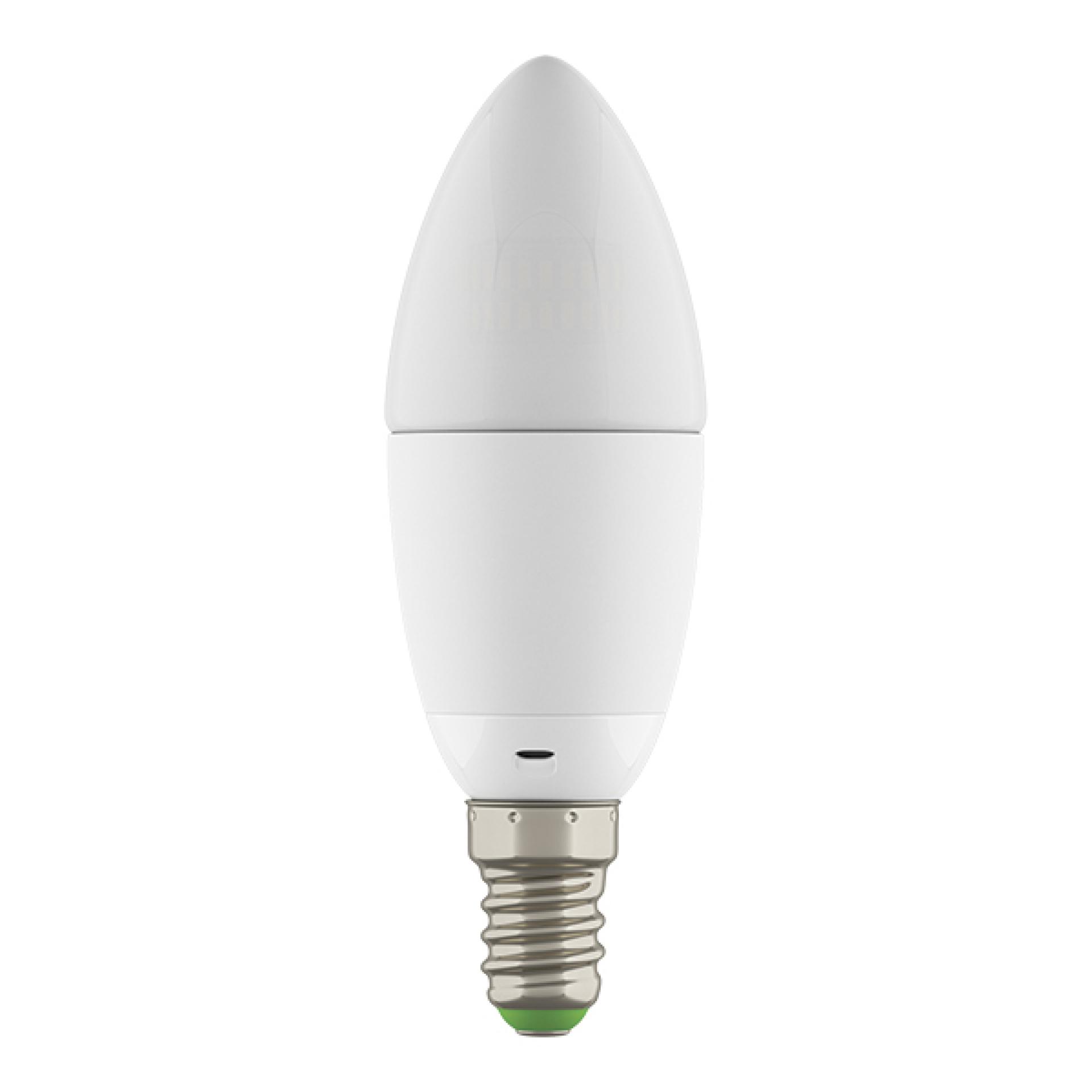 Лампа LED 220V C35 E14 6W=60W 360G WH 2800-3000K 20000H DIMM Lightstar 931502, купить в СПб, Москве, с доставкой, Санкт-Петербург, интернет-магазин люстр и светильников Starlight, фото в жизни