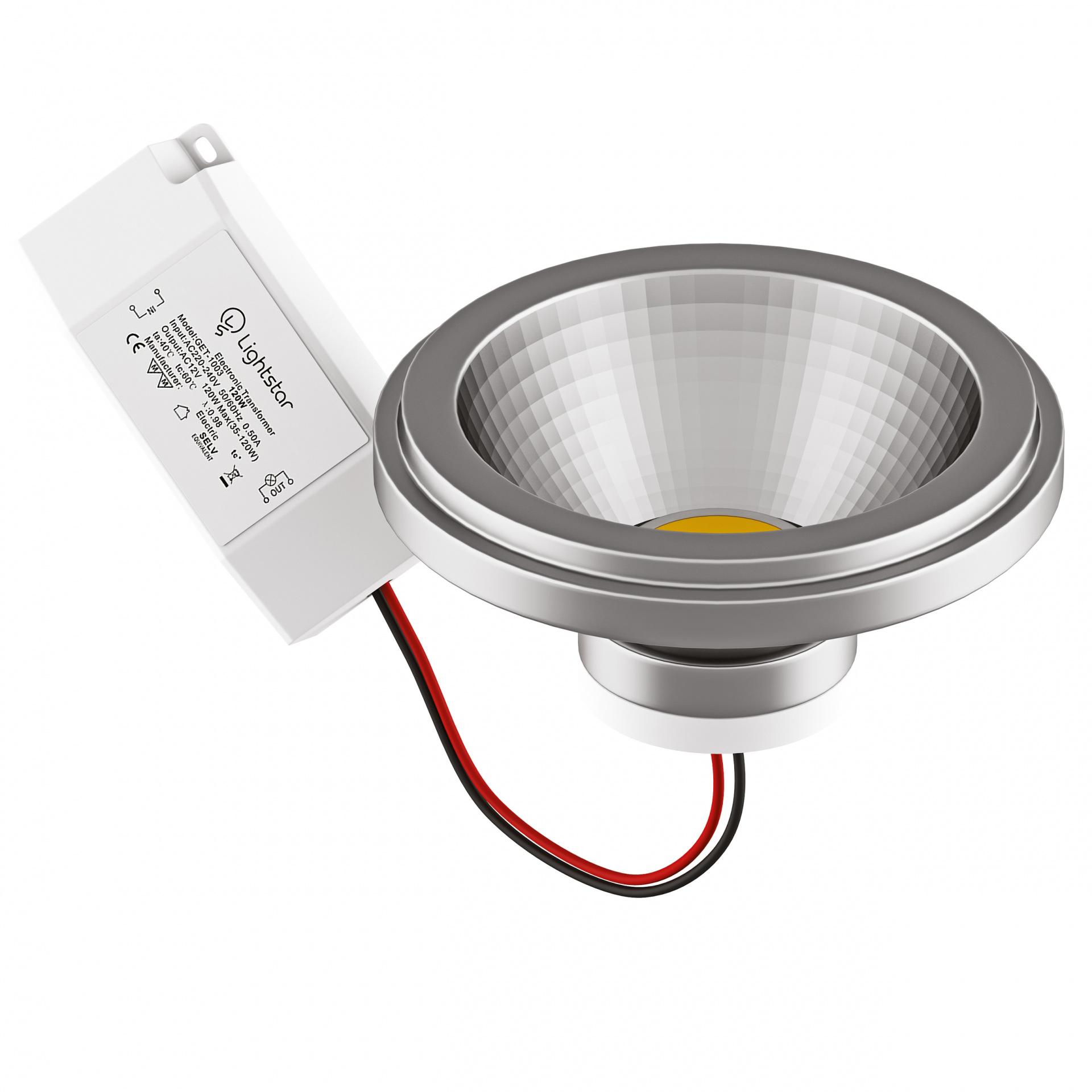 Светодиодная LED лампа AR111/DR111, 220V, 12W - 4000K. Lightstar 932104, купить в СПб, Москве, с доставкой, Санкт-Петербург, интернет-магазин люстр и светильников Starlight, фото в жизни