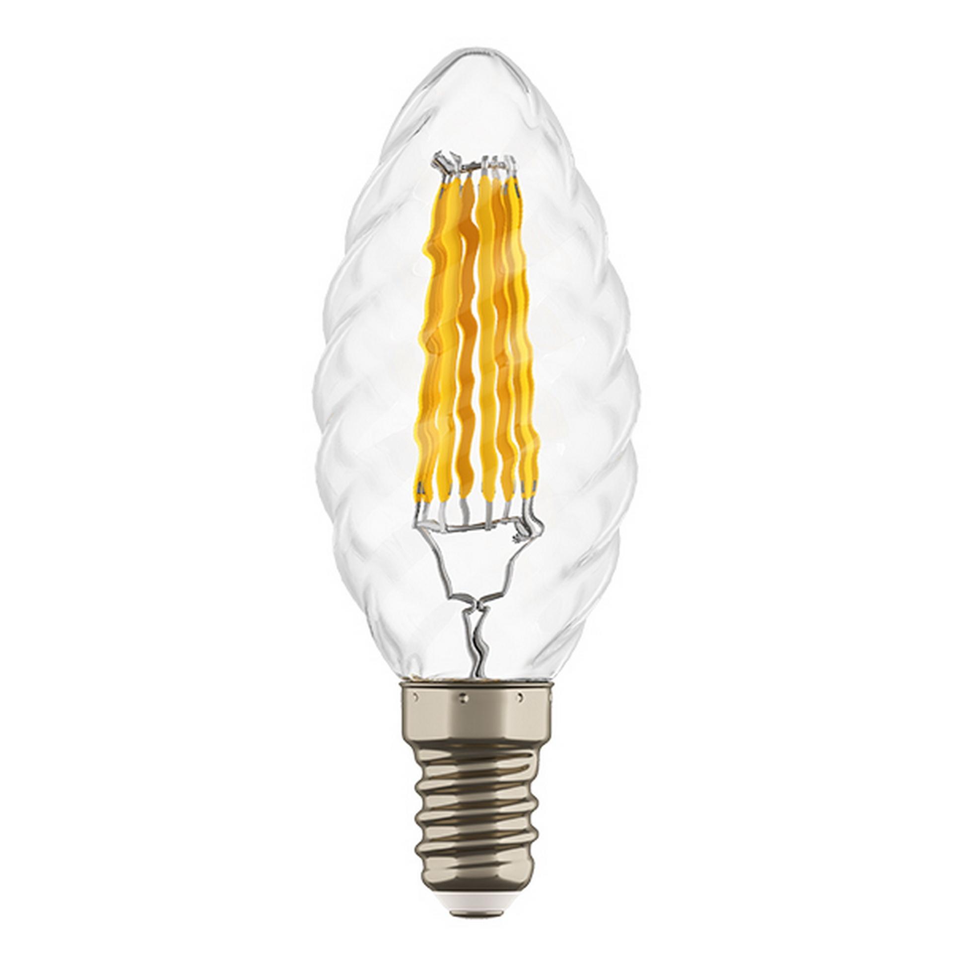 Светодиодная LED лампа FILAMENT 220V, E14, 6W - 3000K, Lightstar 933702, купить в СПб, Москве, с доставкой, Санкт-Петербург, интернет-магазин люстр и светильников Starlight, фото в жизни