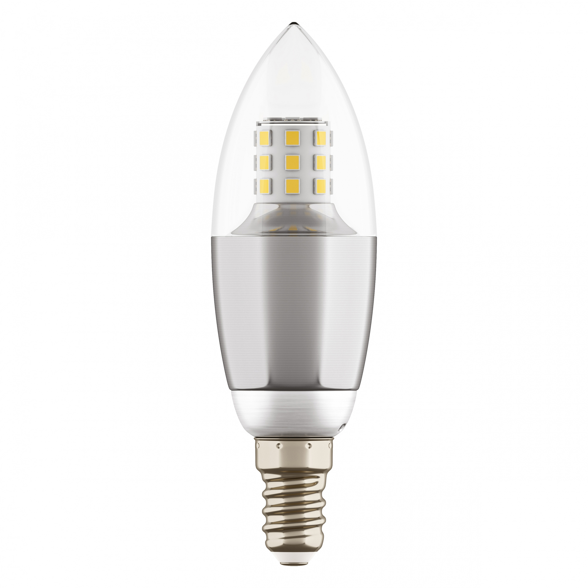 Лампа LED 220V C35 E14 7W=70W 460LM 60G CL/CH 3000K 20000H Lightstar 940542