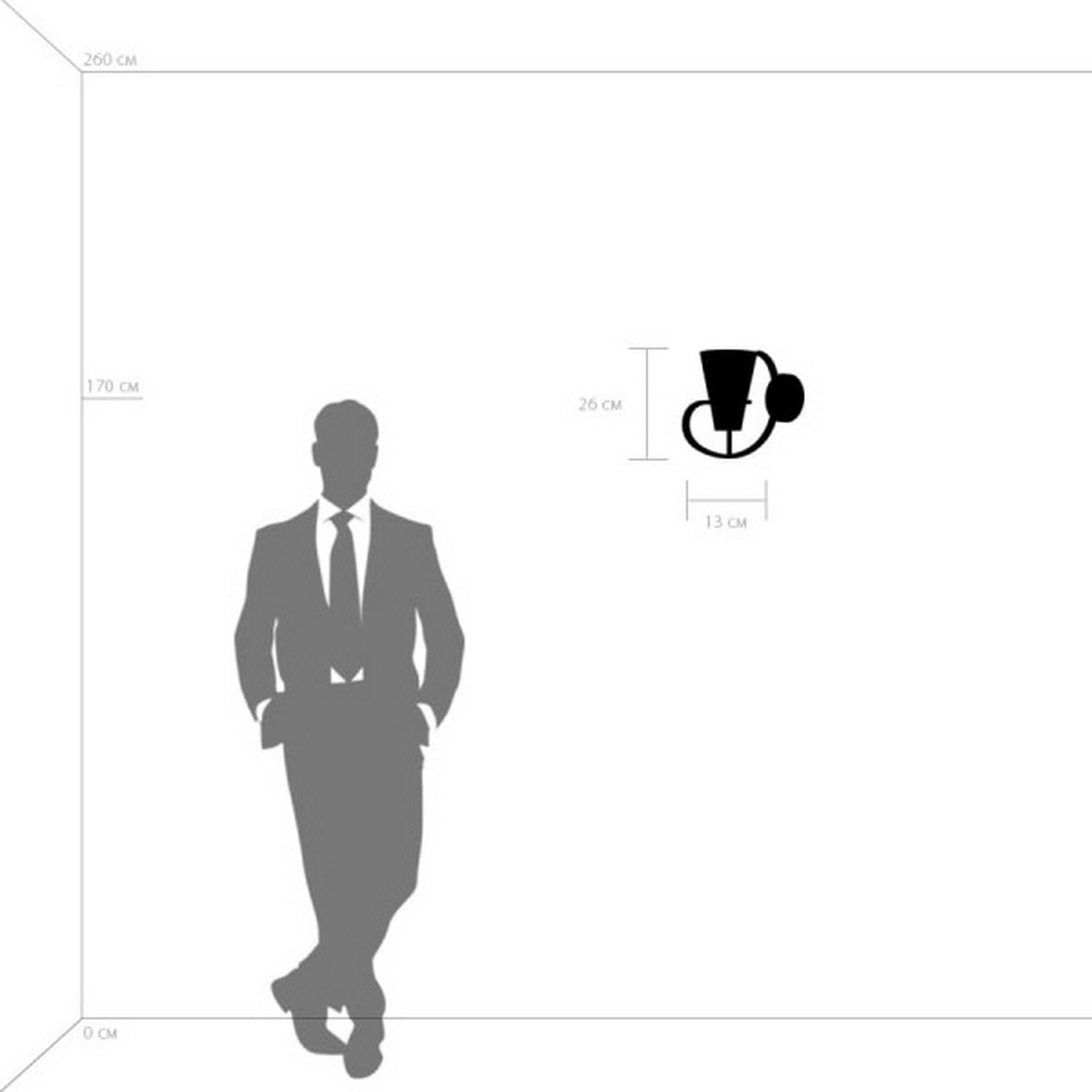 Бра FIACOLLA LightStar 733617 цвет - черный/белый, купить в СПб, Москве, с доставкой, Санкт-Петербург, интернет-магазин люстр и светильников Starlight, фото в жизни
