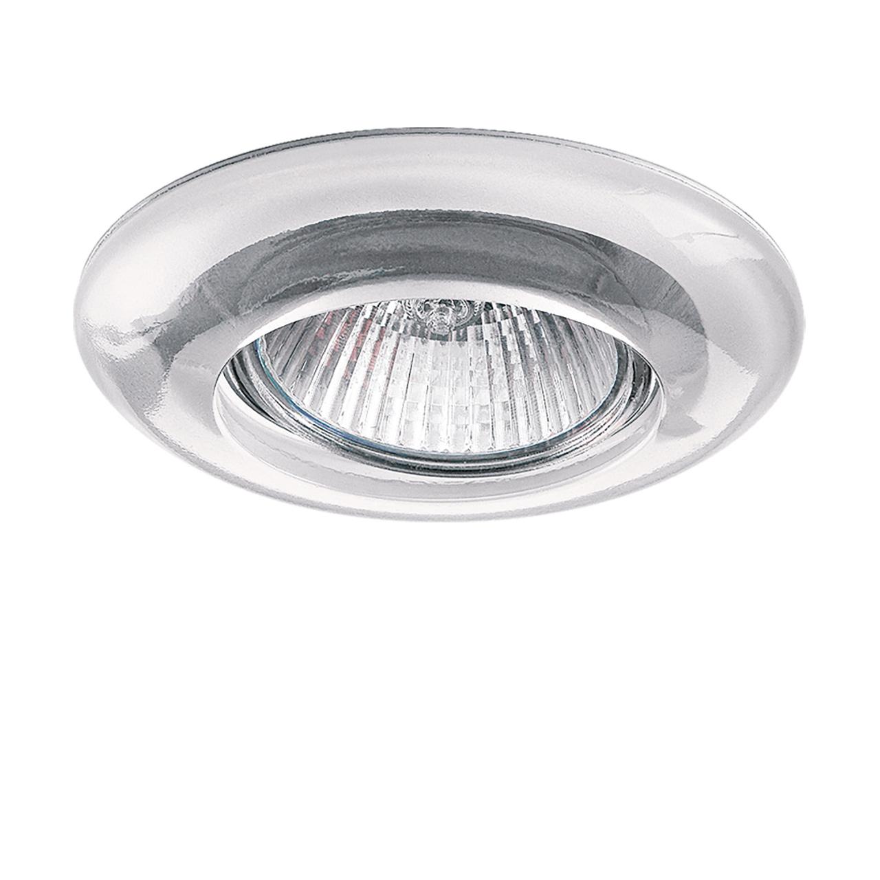 Светильник Anello TR MR16 / HP16 хром / прозрачный Lightstar 002230