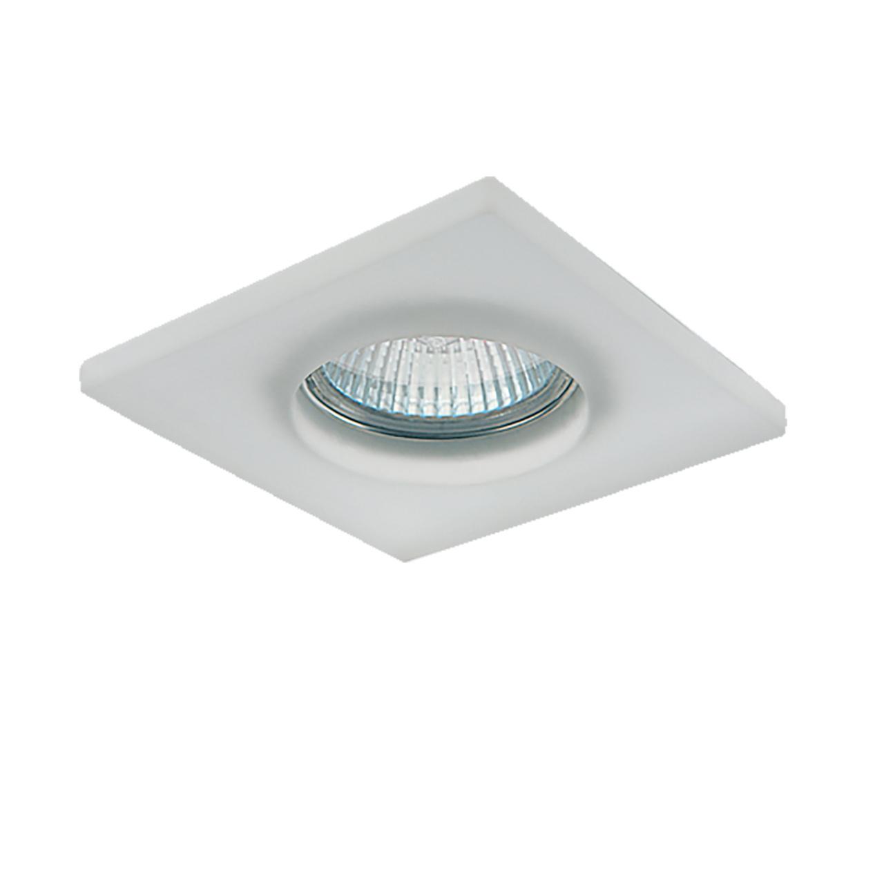 Светильник Anello quad OP MR16 / HP16 хром / матовый Lightstar 002250